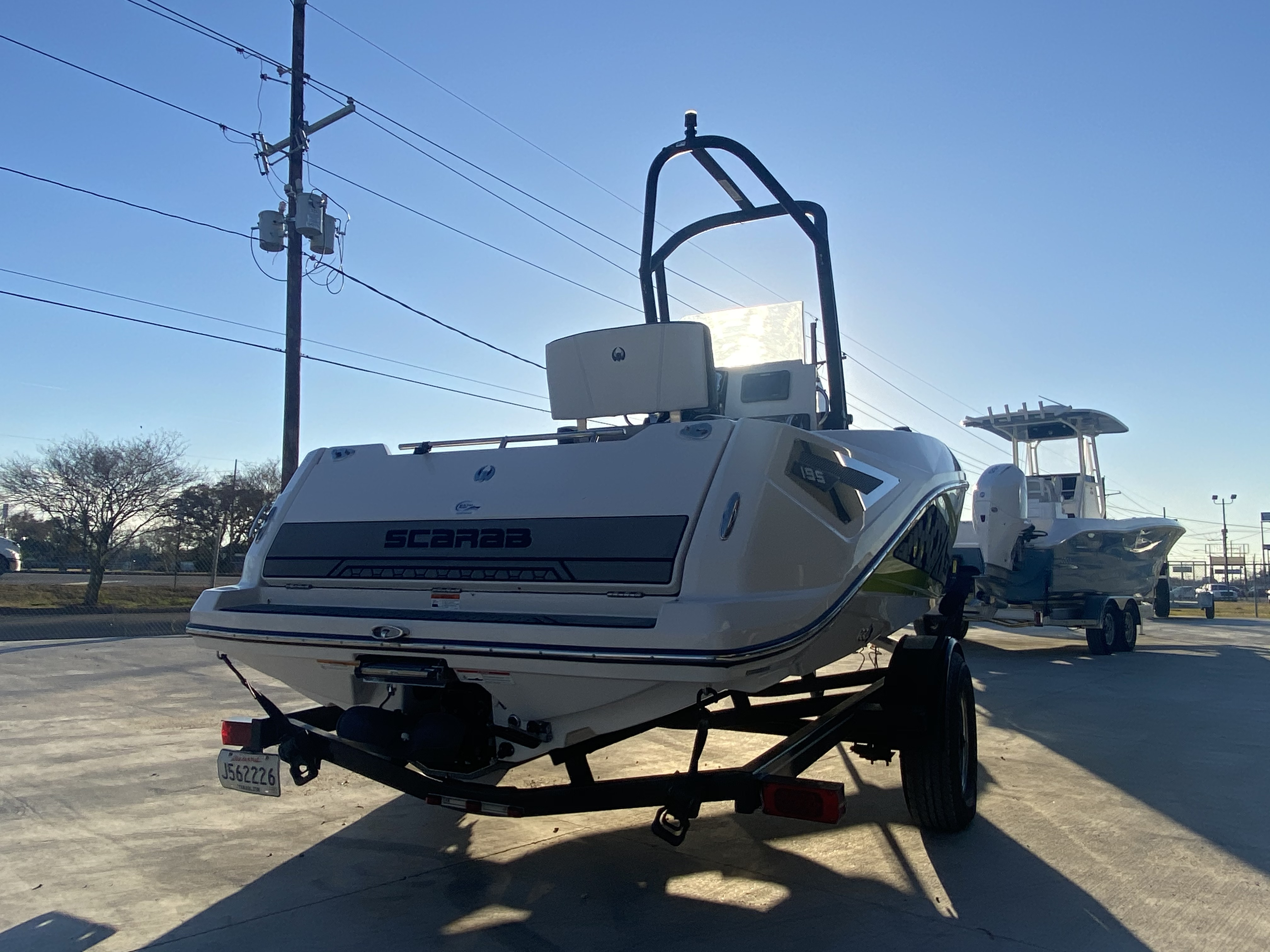 2017 Scarab boat for sale, model of the boat is 195 & Image # 2 of 14