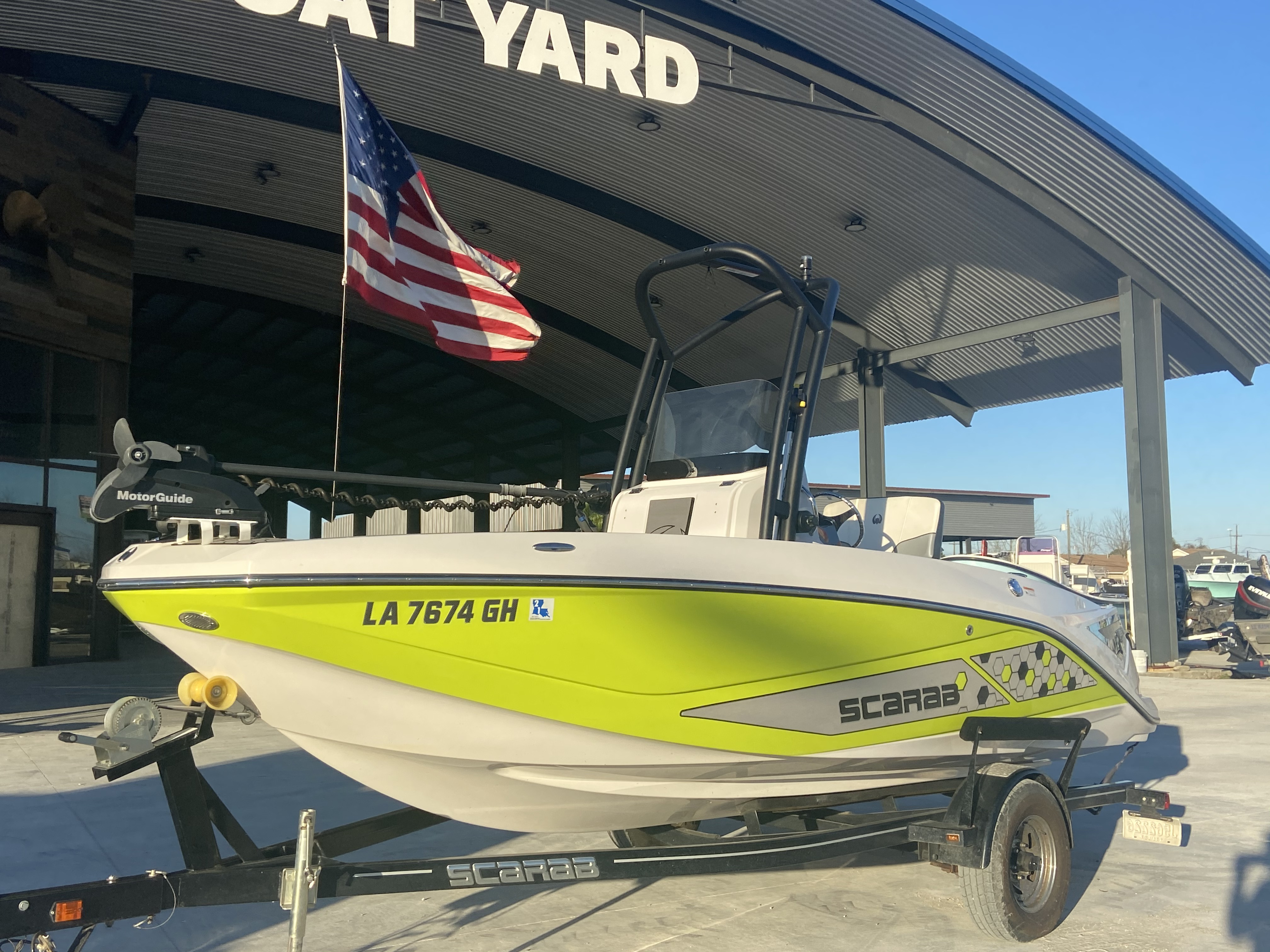 2017 Scarab boat for sale, model of the boat is 195 & Image # 5 of 14
