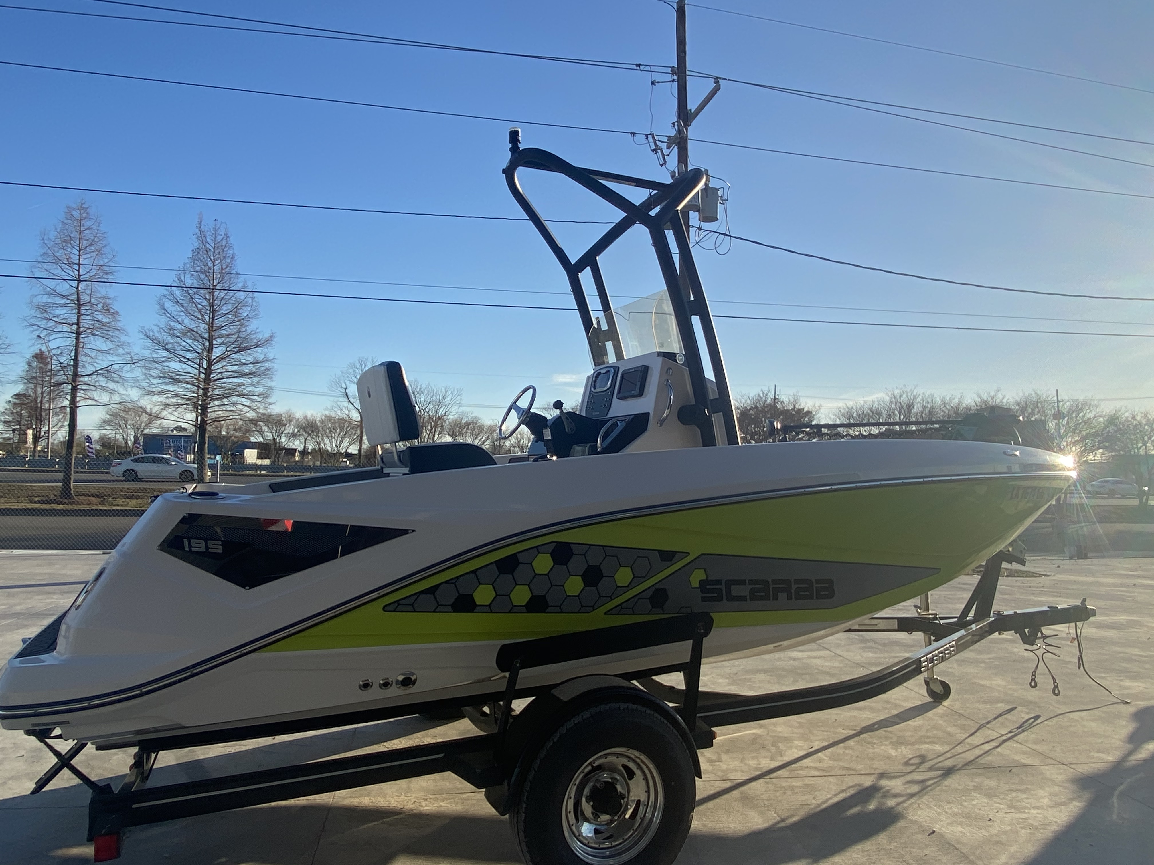 2017 Scarab boat for sale, model of the boat is 195 & Image # 6 of 14