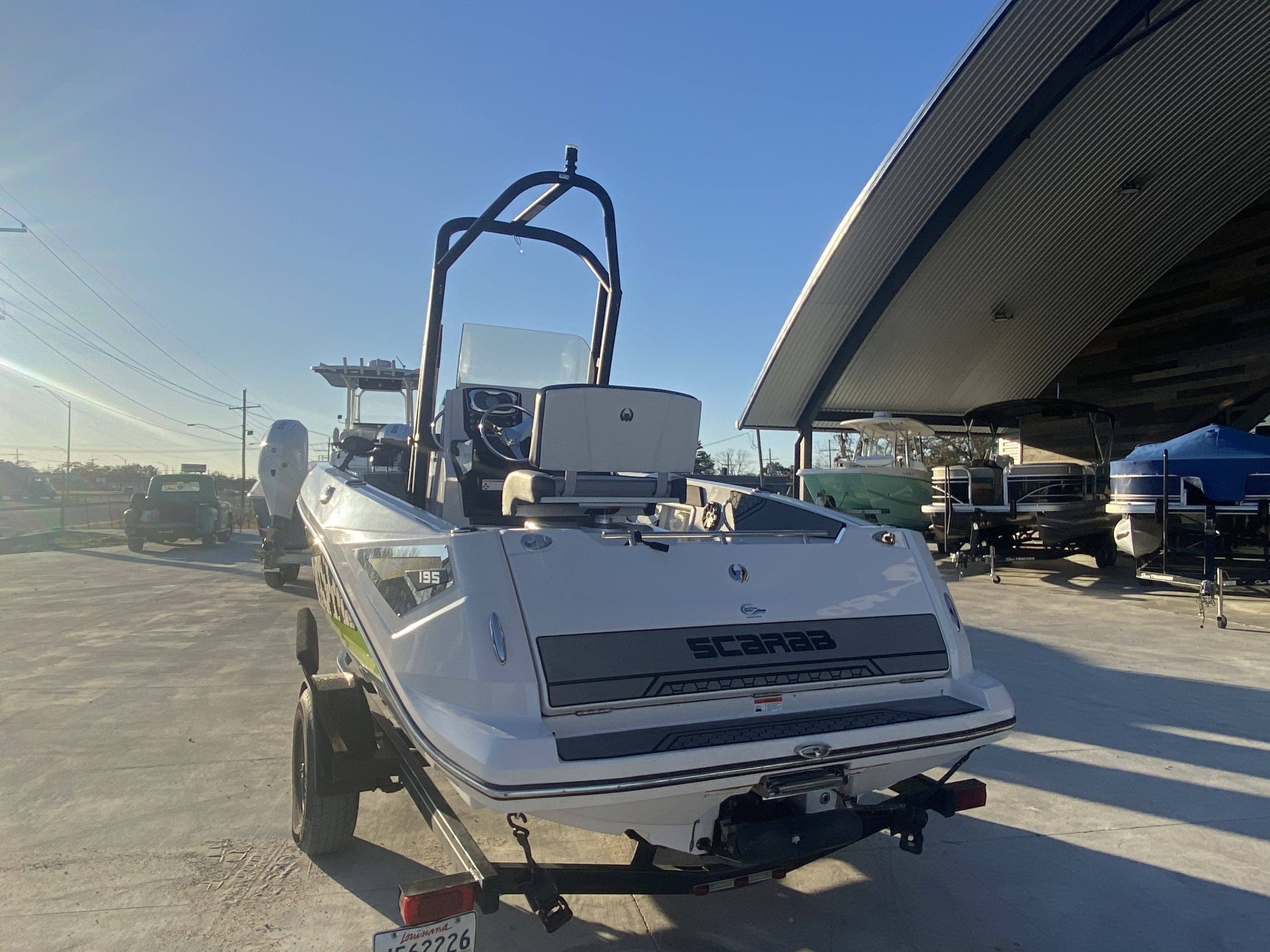 2017 Scarab boat for sale, model of the boat is 195 & Image # 7 of 14