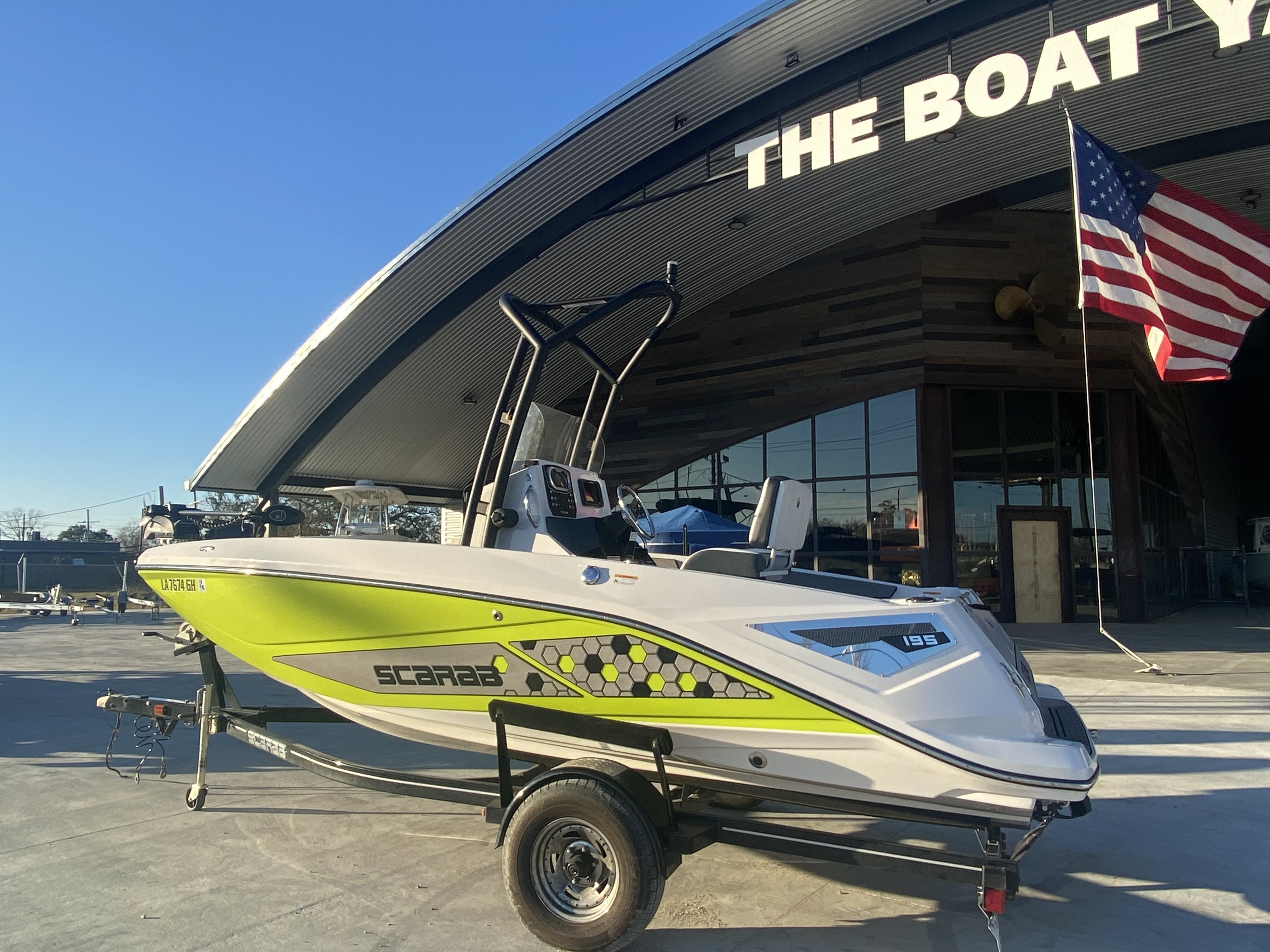 2017 Scarab boat for sale, model of the boat is 195 & Image # 13 of 14