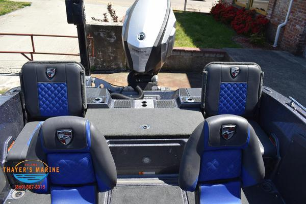 2017 Triton boat for sale, model of the boat is 206 Allure & Image # 36 of 46