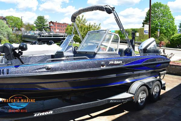 2017 Triton boat for sale, model of the boat is 206 Allure & Image # 39 of 46
