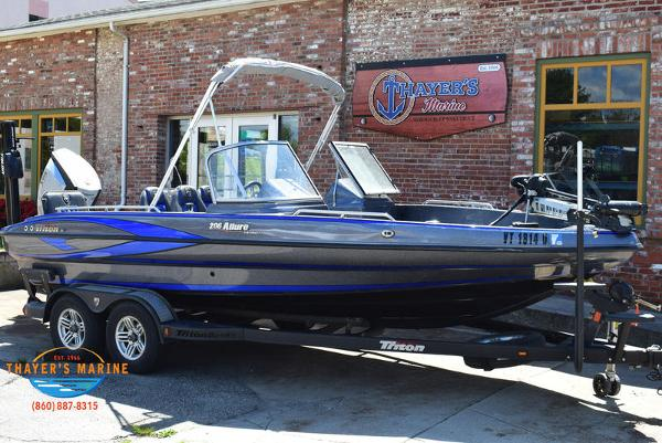 2017 Triton boat for sale, model of the boat is 206 Allure & Image # 1 of 46