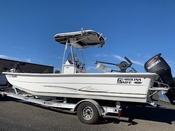 2016 Carolina Skiff boat for sale, model of the boat is DLX Series 21 & Image # 7 of 19