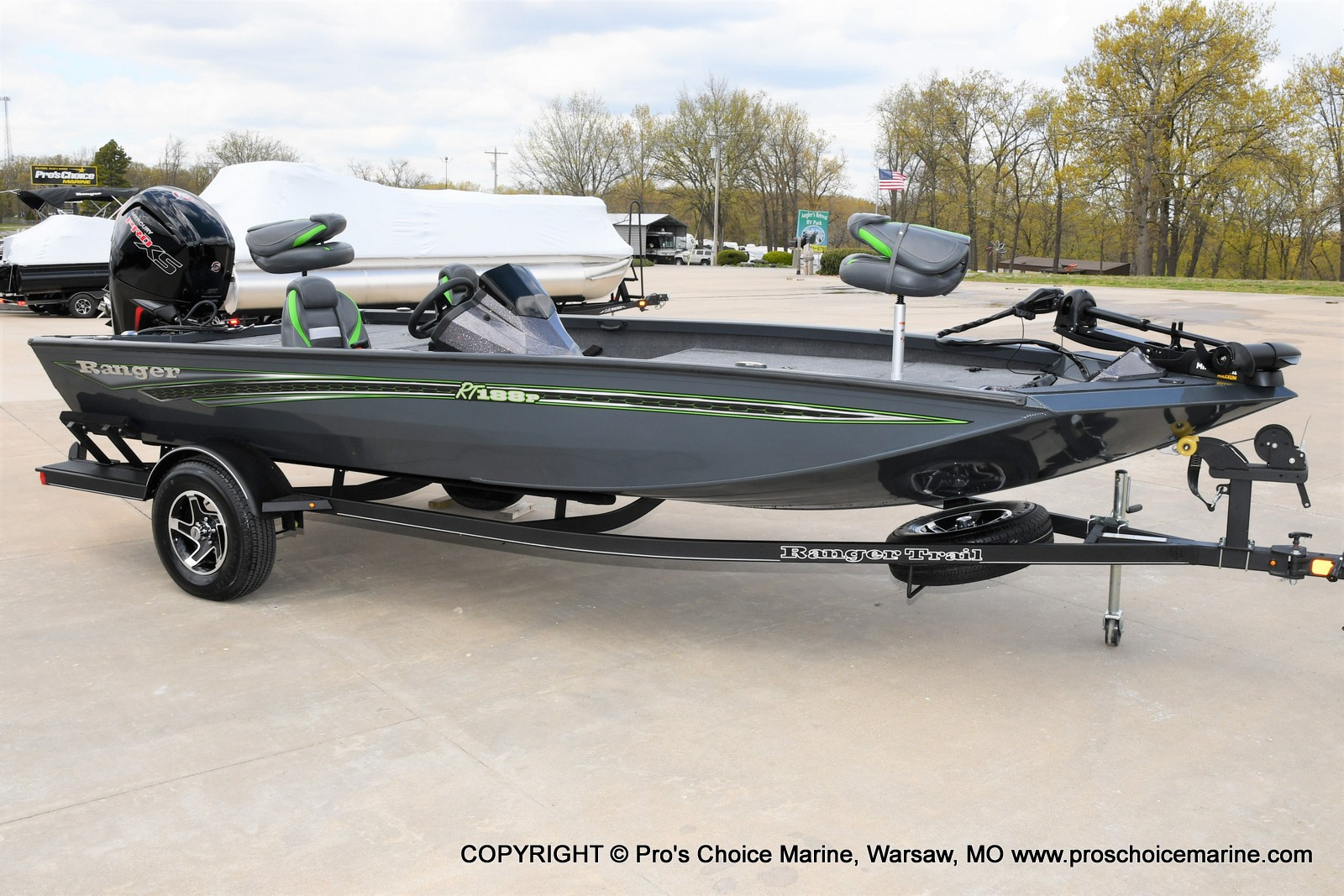2021 Ranger Boats boat for sale, model of the boat is RT188P w/115HP Pro-XS Command Thrust & Image # 2 of 50