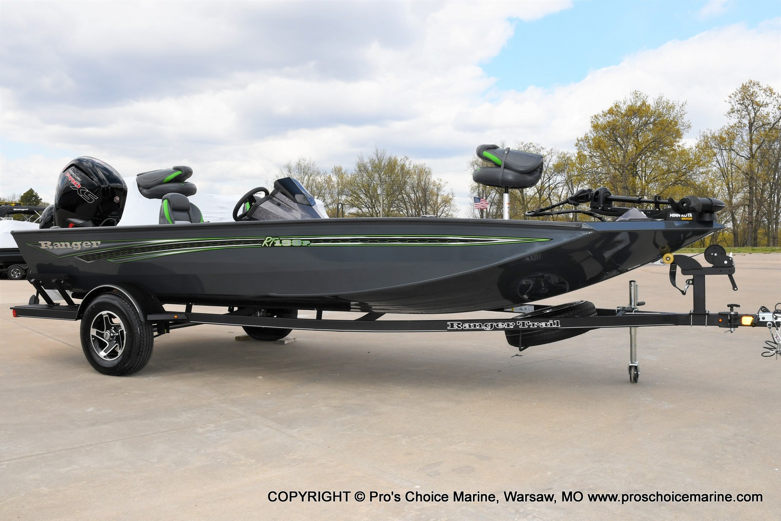 2021 Ranger Boats boat for sale, model of the boat is RT188P w/115HP Pro-XS Command Thrust & Image # 17 of 50