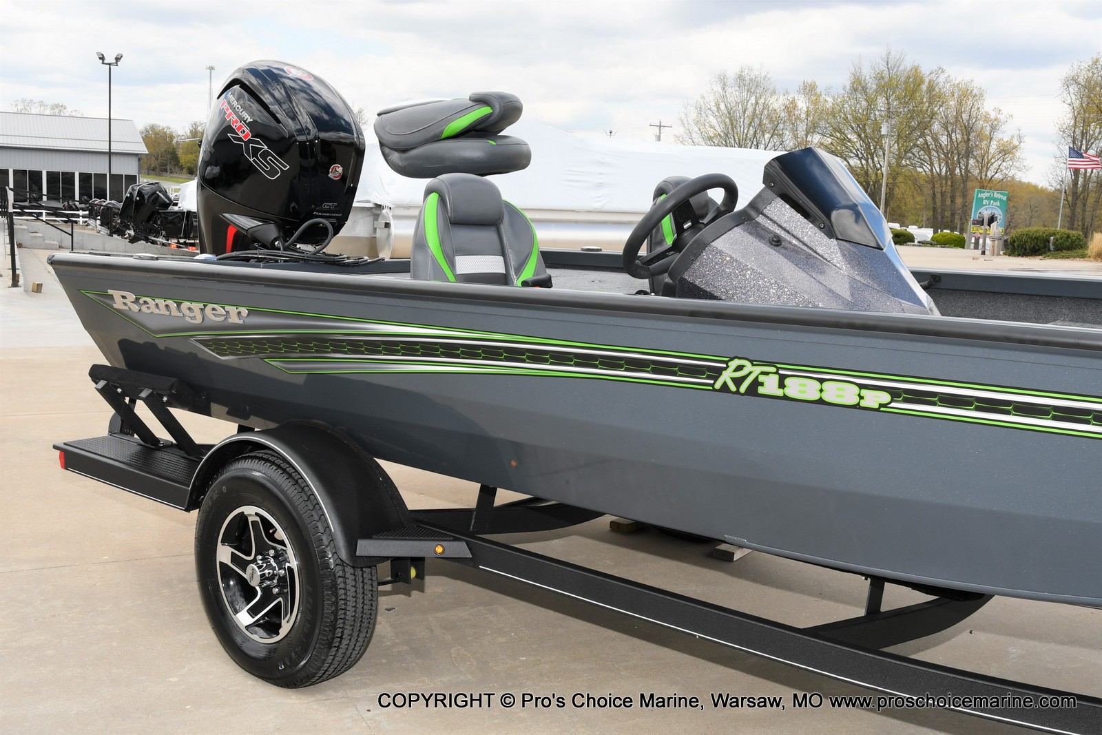 2021 Ranger Boats boat for sale, model of the boat is RT188P w/115HP Pro-XS Command Thrust & Image # 25 of 50