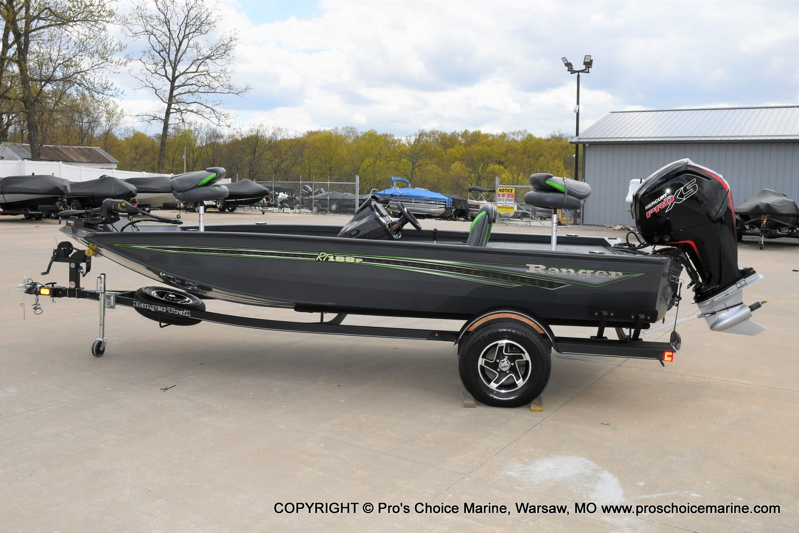 2021 Ranger Boats boat for sale, model of the boat is RT188P w/115HP Pro-XS Command Thrust & Image # 27 of 50