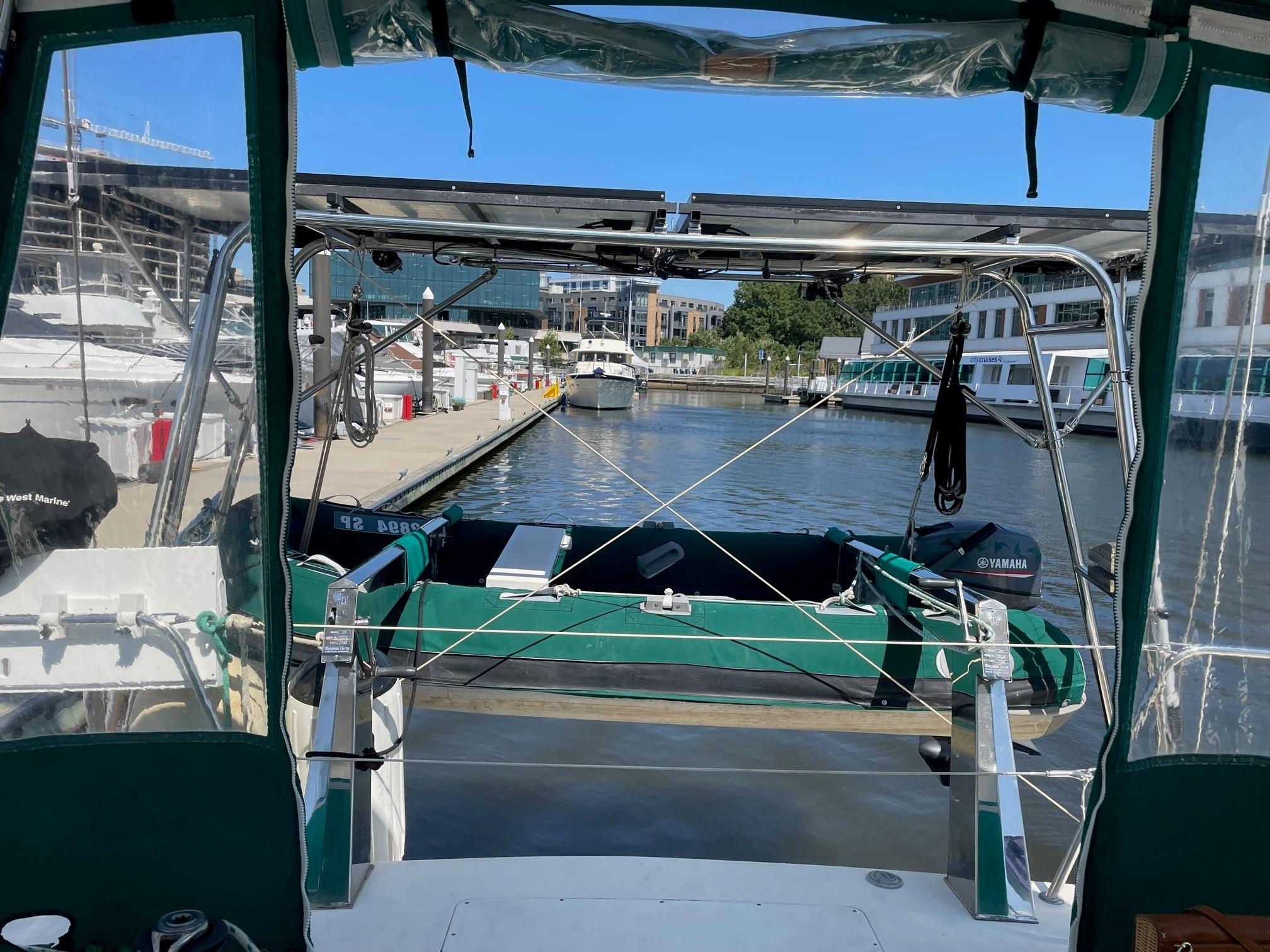 Davits, Solar and Dinghy