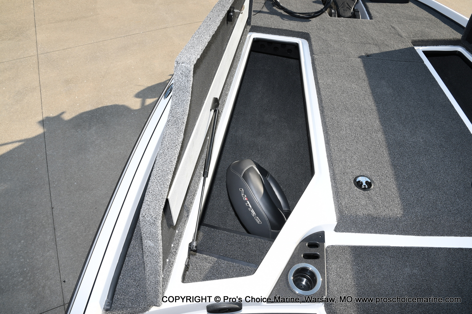 2021 Nitro boat for sale, model of the boat is Z20 PRO PACKAGE & Image # 14 of 50