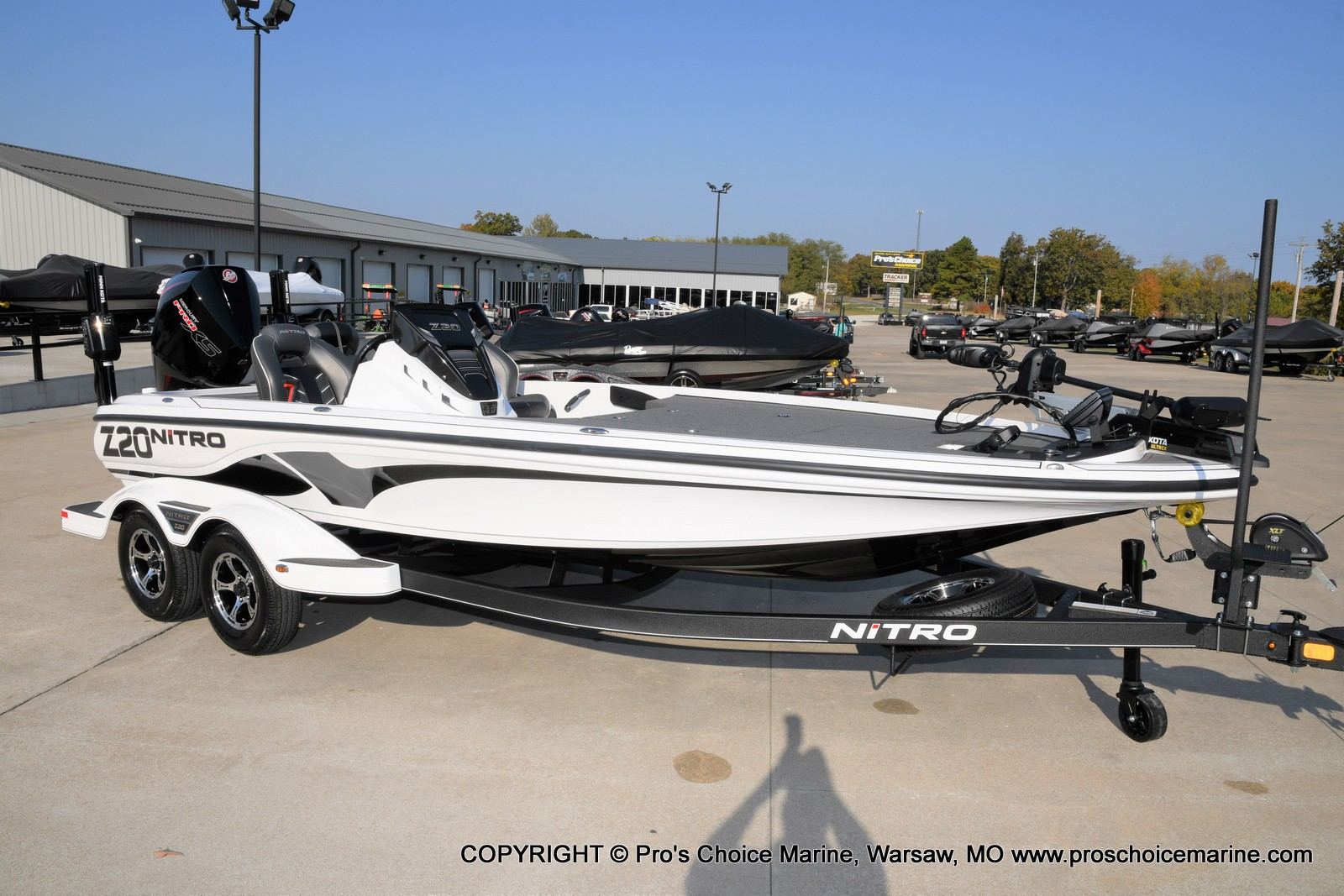 2021 Nitro boat for sale, model of the boat is Z20 PRO PACKAGE & Image # 19 of 50