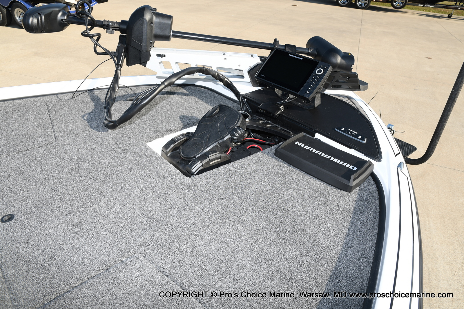 2021 Nitro boat for sale, model of the boat is Z20 PRO PACKAGE & Image # 23 of 50