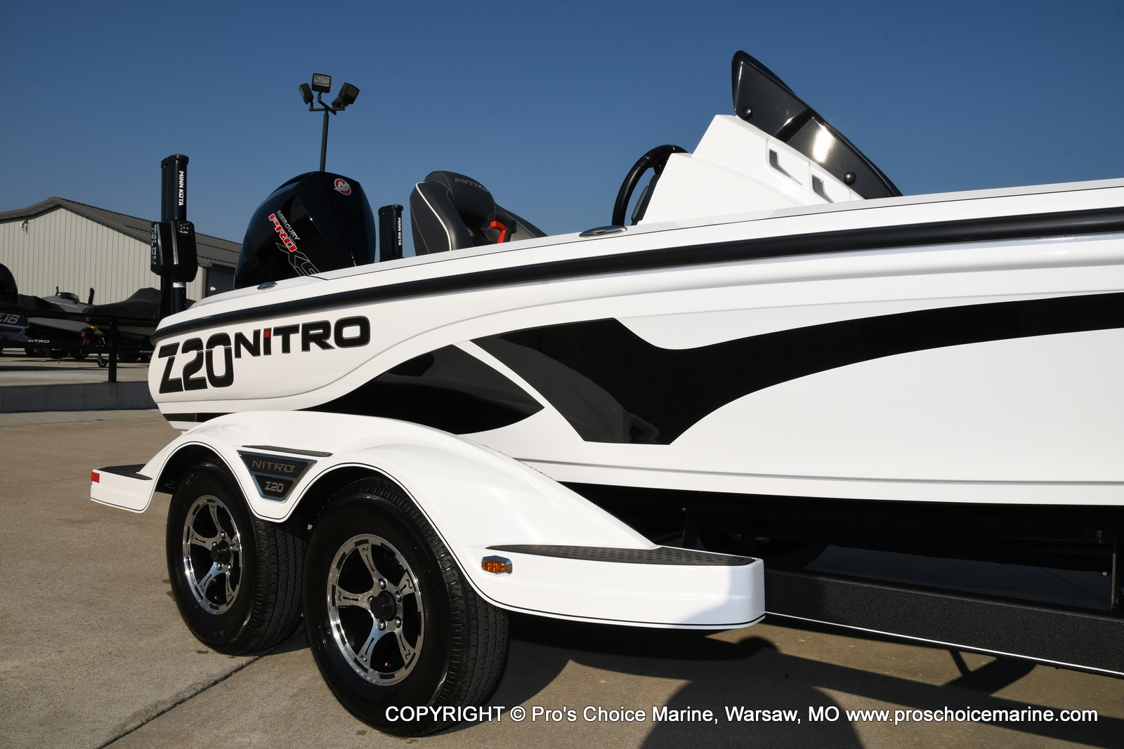 2021 Nitro boat for sale, model of the boat is Z20 PRO PACKAGE & Image # 43 of 50