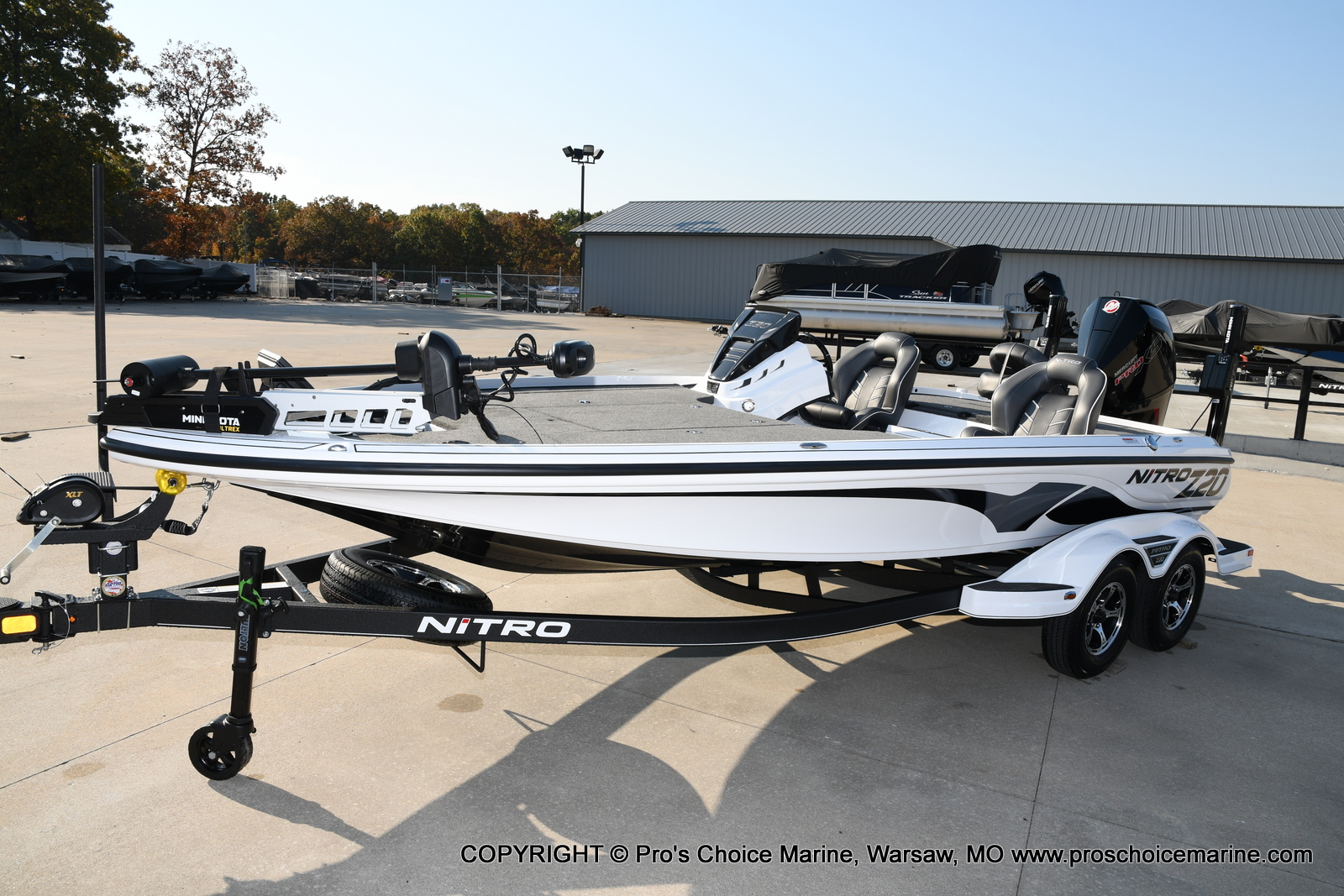 2021 Nitro boat for sale, model of the boat is Z20 PRO PACKAGE & Image # 44 of 50