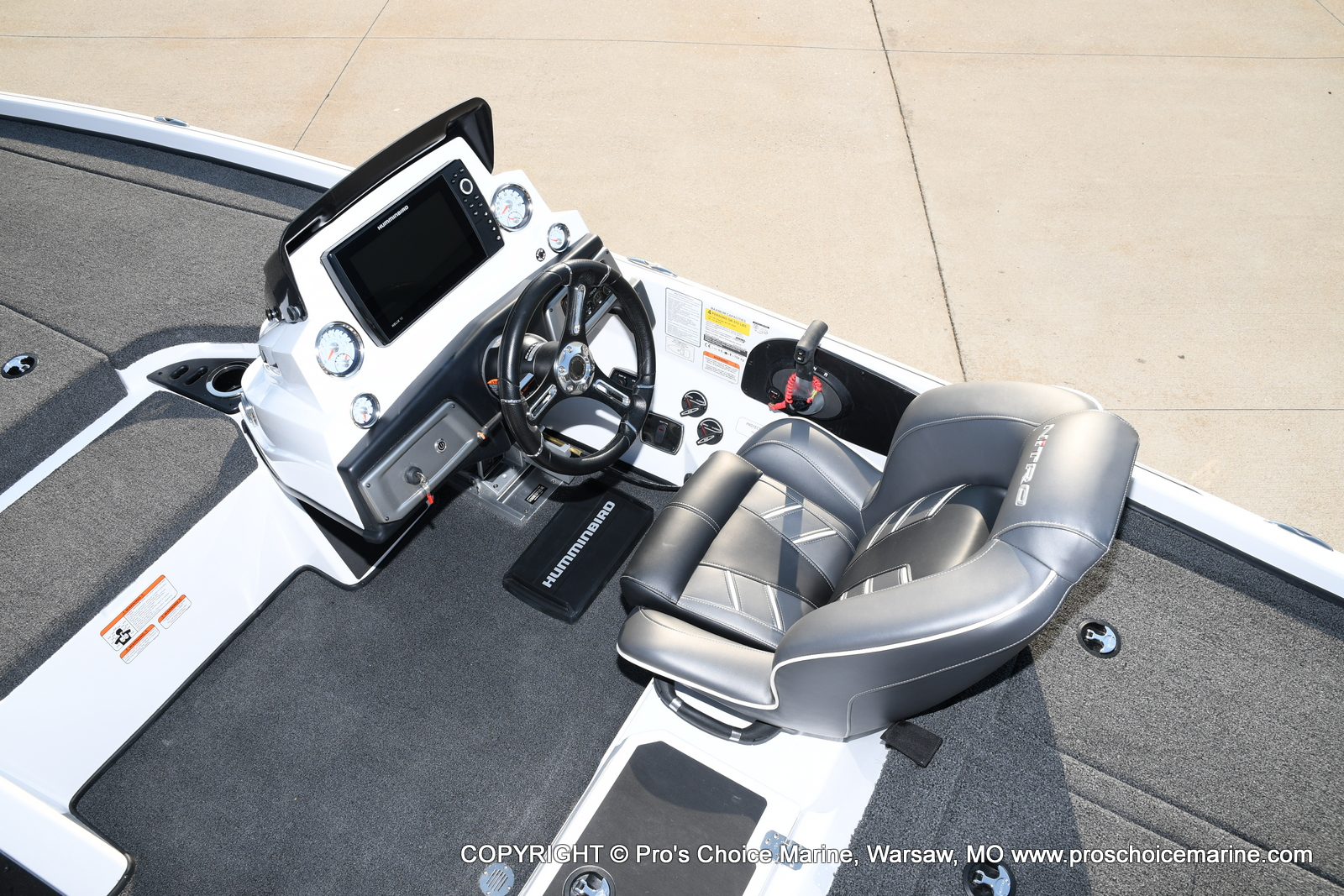 2021 Nitro boat for sale, model of the boat is Z20 PRO PACKAGE & Image # 48 of 50
