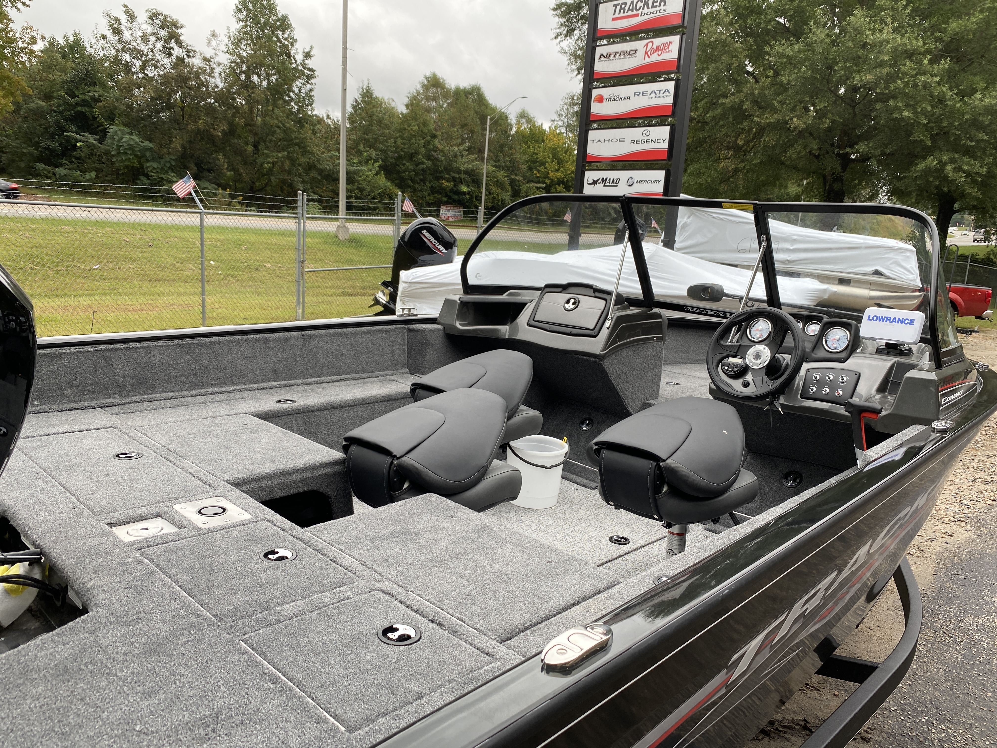 2021 Tracker Boats boat for sale, model of the boat is Pro Guide V175 CB w/150XL 4S & Image # 34 of 43