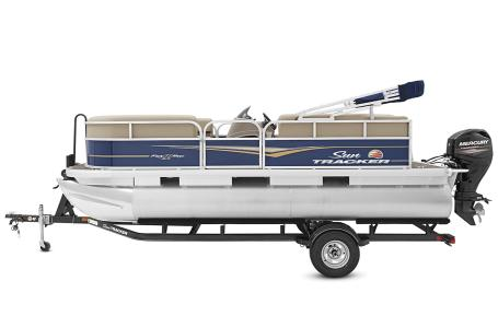 2021 Sun Tracker boat for sale, model of the boat is Party Barge 18 w/60ELPT 4S CT & Image # 31 of 50