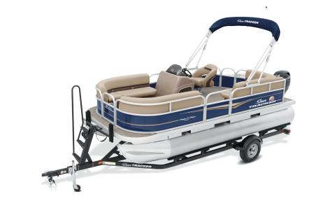2021 Sun Tracker boat for sale, model of the boat is Party Barge 18 w/60ELPT 4S CT & Image # 36 of 50