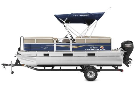 2021 Sun Tracker boat for sale, model of the boat is Party Barge 18 w/60ELPT 4S CT & Image # 39 of 50