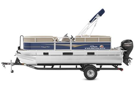 2021 Sun Tracker boat for sale, model of the boat is Party Barge 18 w/60ELPT 4S CT & Image # 48 of 50