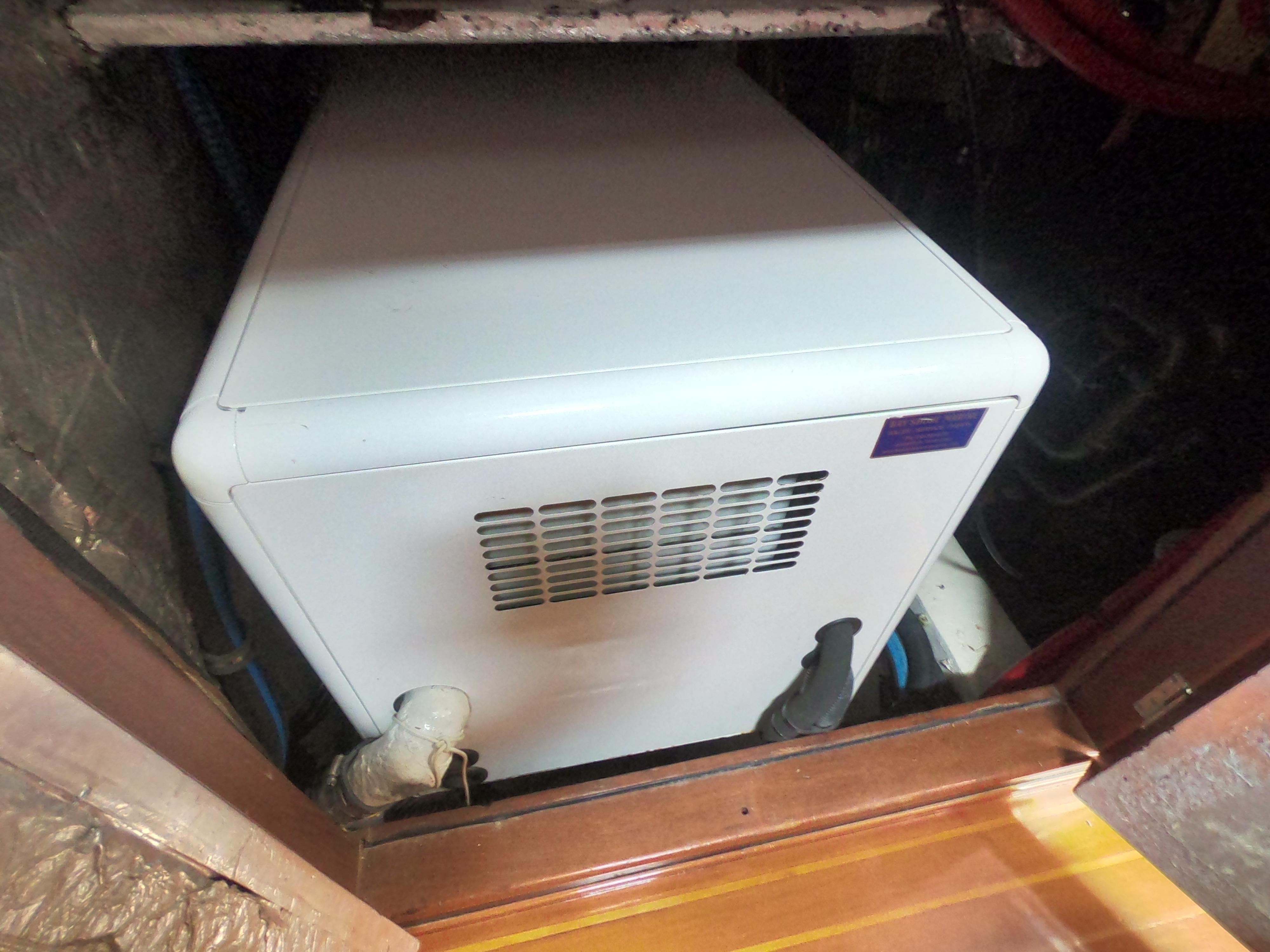 Galley Generator Access