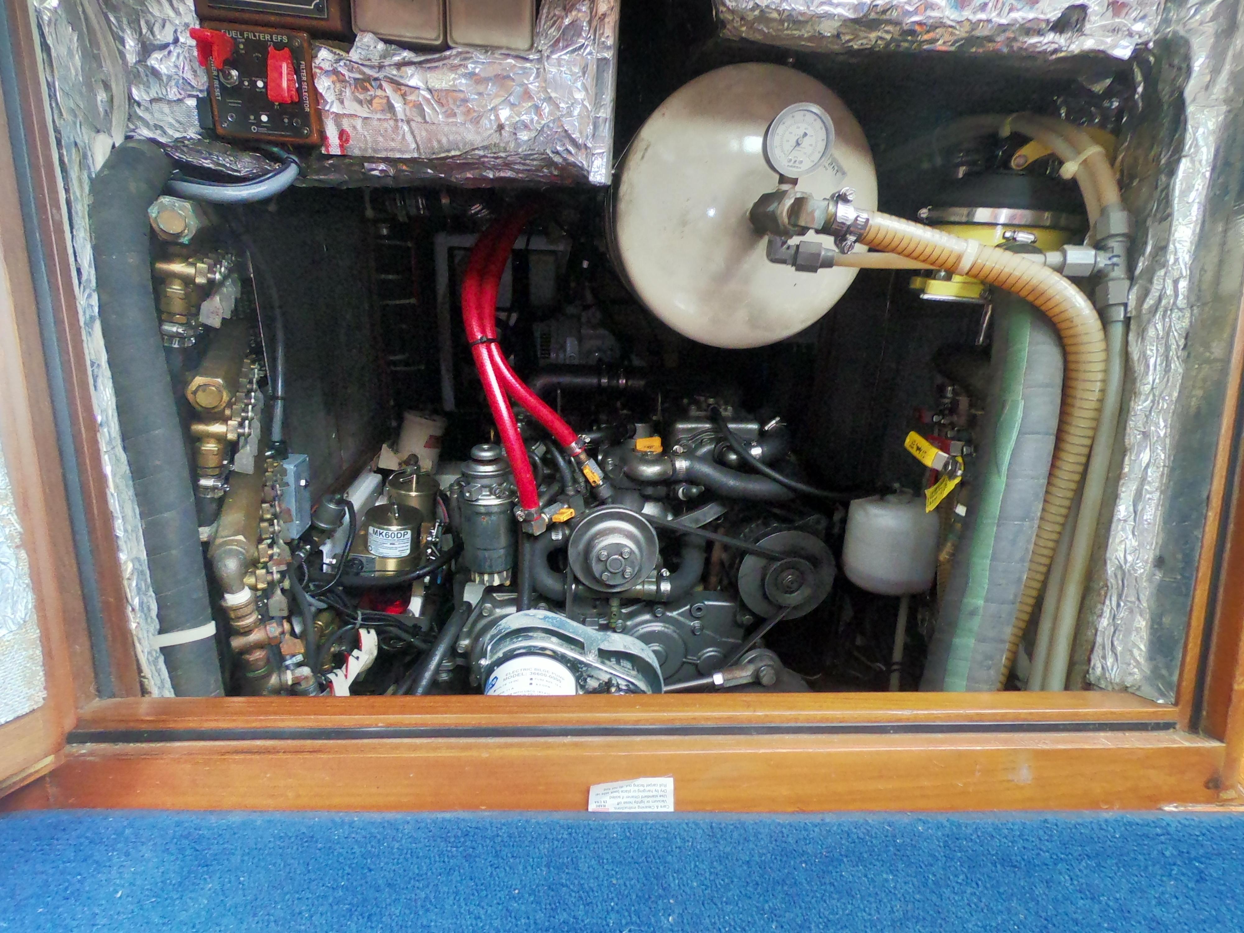 Companionway Engine Access