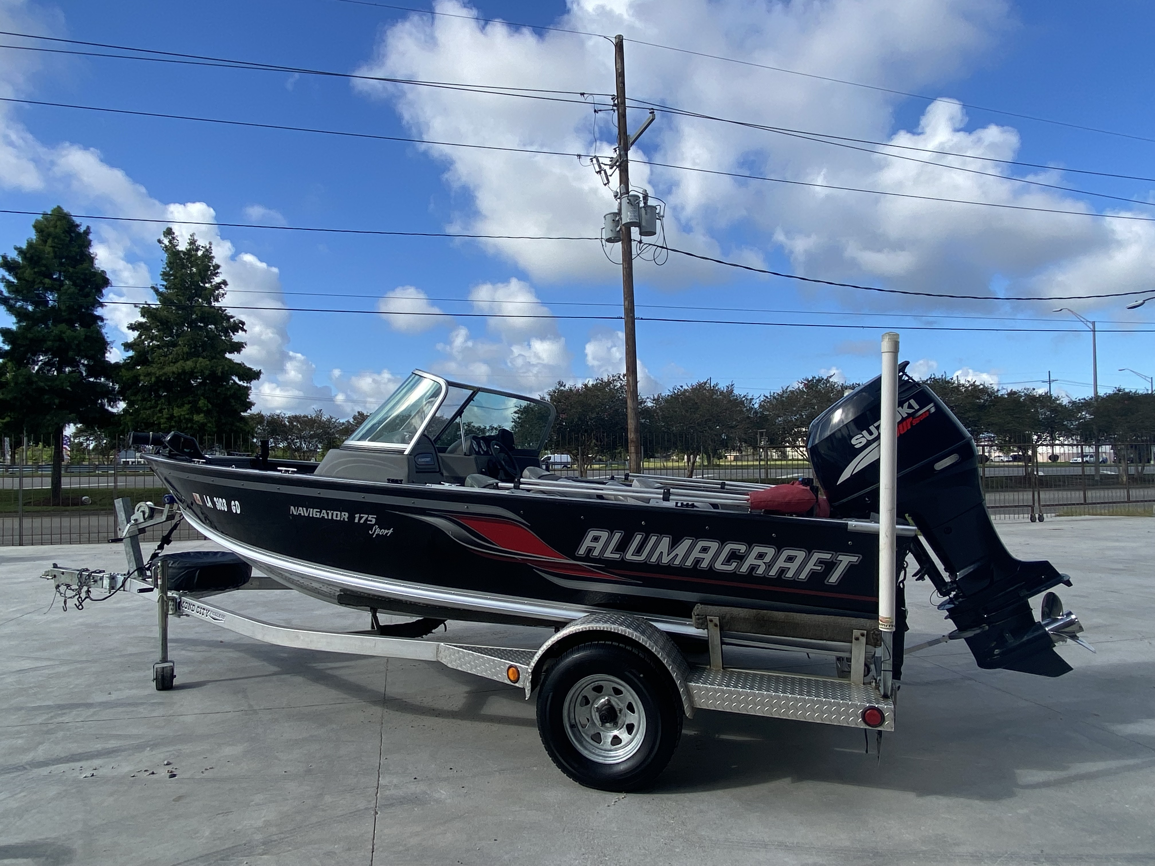 2008 Alumacraft boat for sale, model of the boat is 175 & Image # 11 of 12