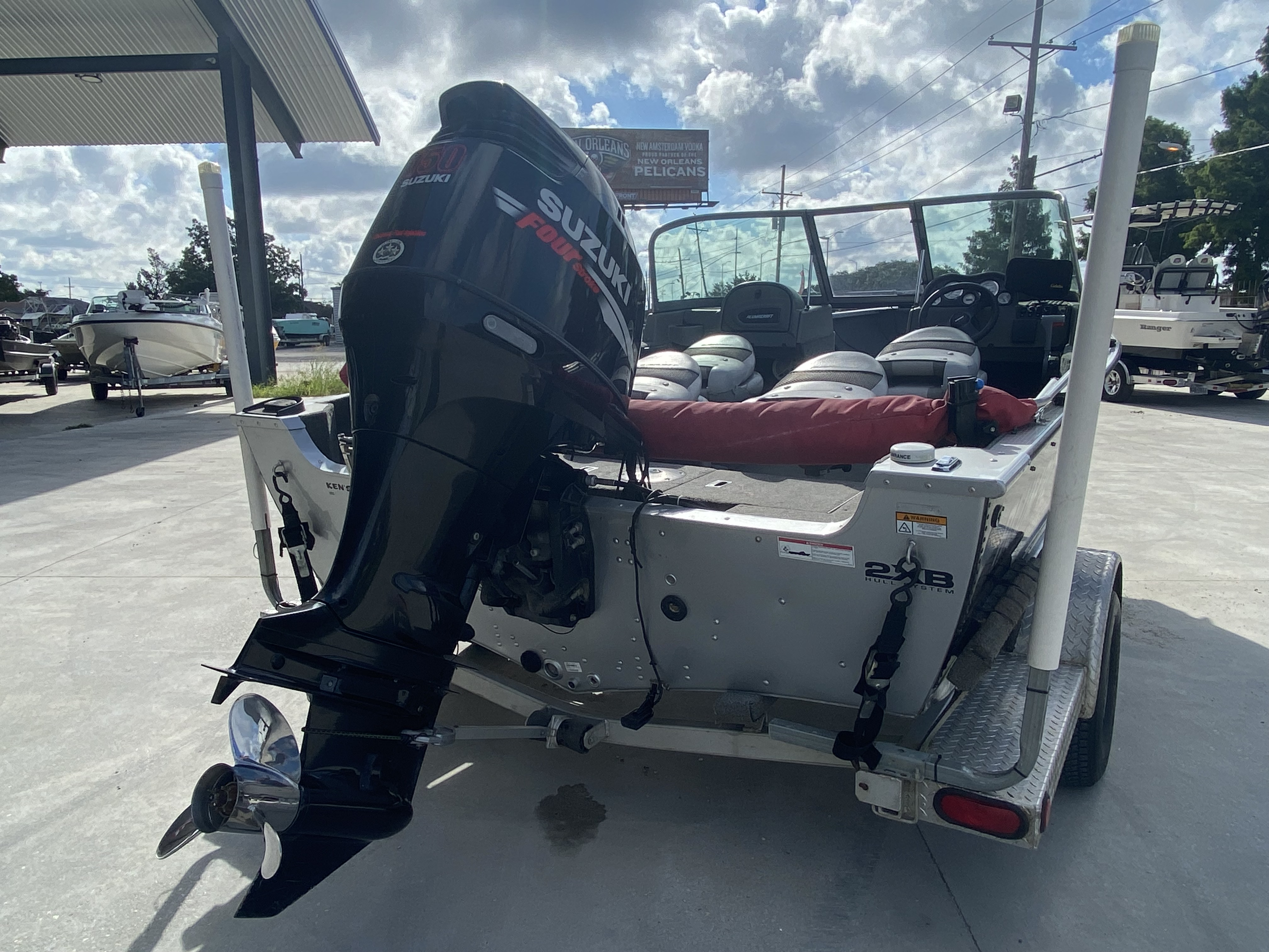 2008 Alumacraft boat for sale, model of the boat is 175 & Image # 5 of 12