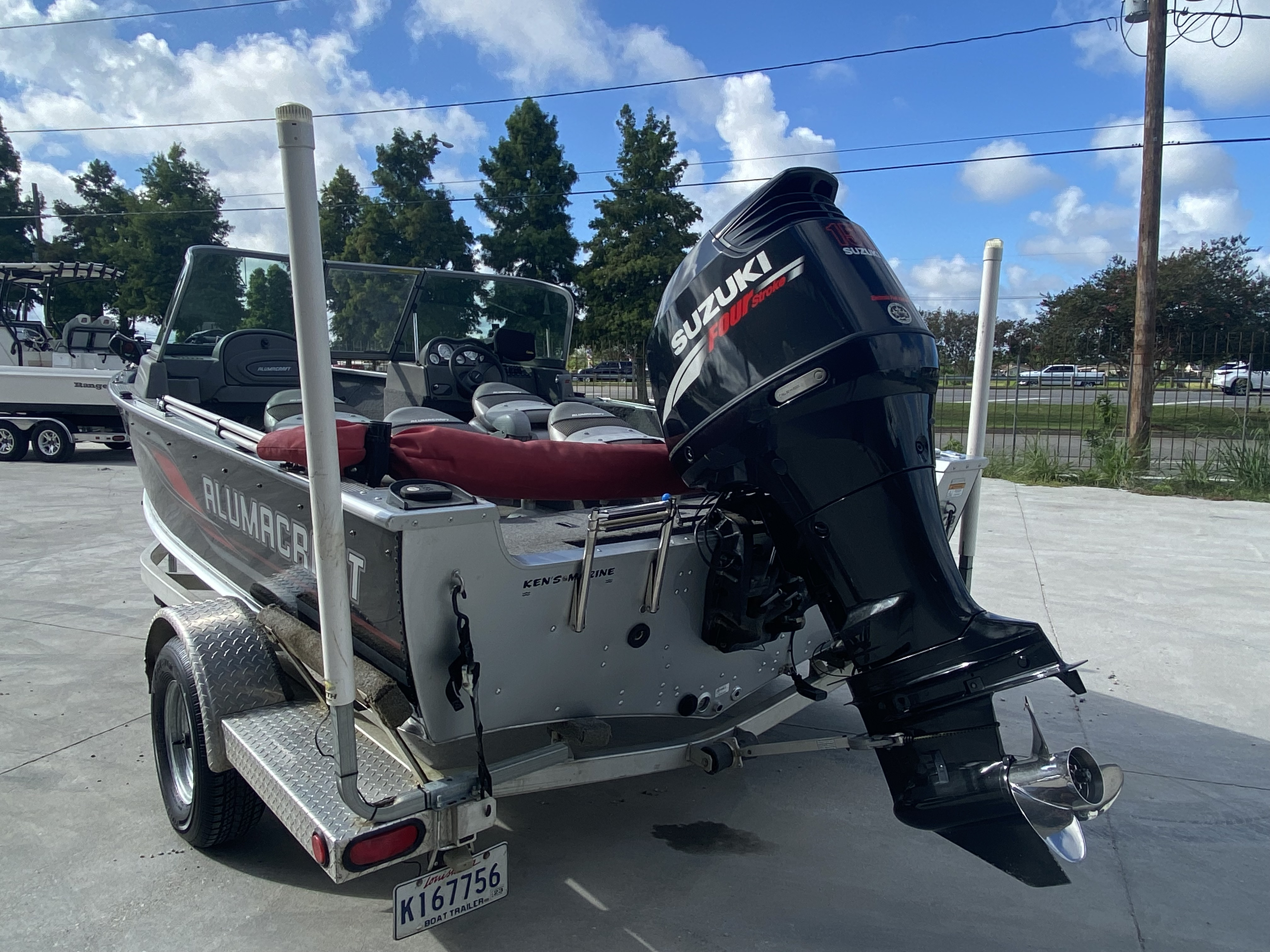 2008 Alumacraft boat for sale, model of the boat is 175 & Image # 6 of 12