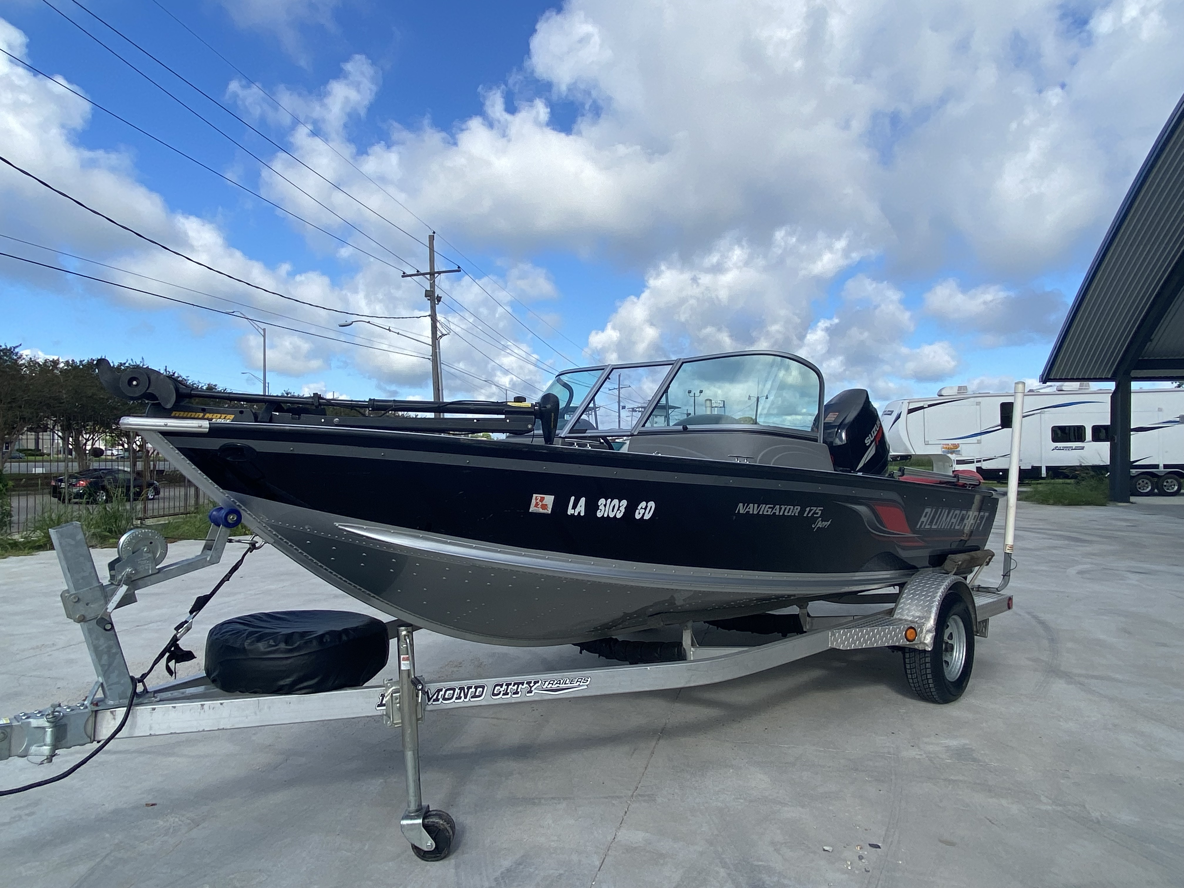 2008 Alumacraft boat for sale, model of the boat is 175 & Image # 8 of 12