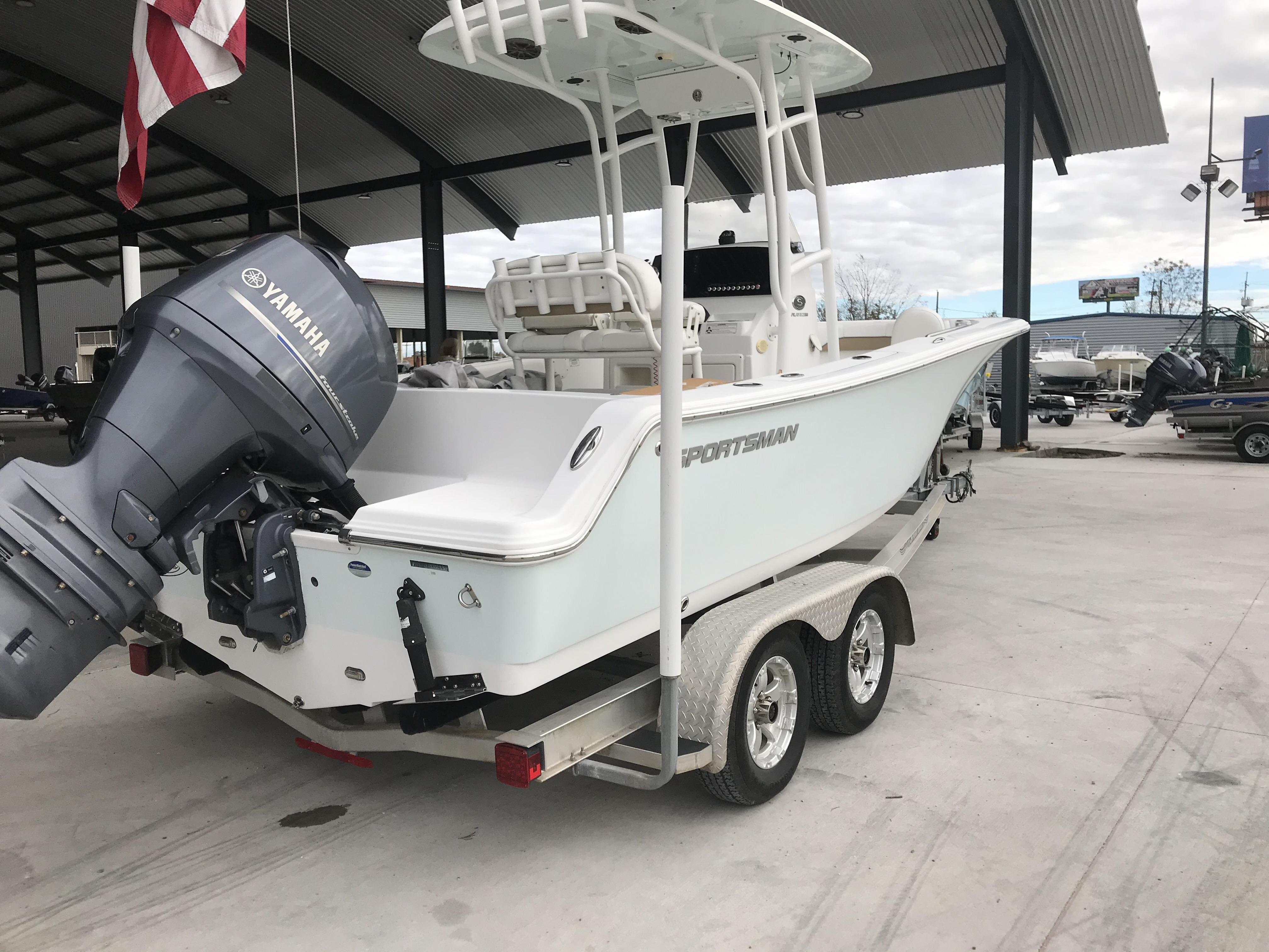 2015 Sportsman Boats boat for sale, model of the boat is Heritage 211 Center Console & Image # 4 of 15