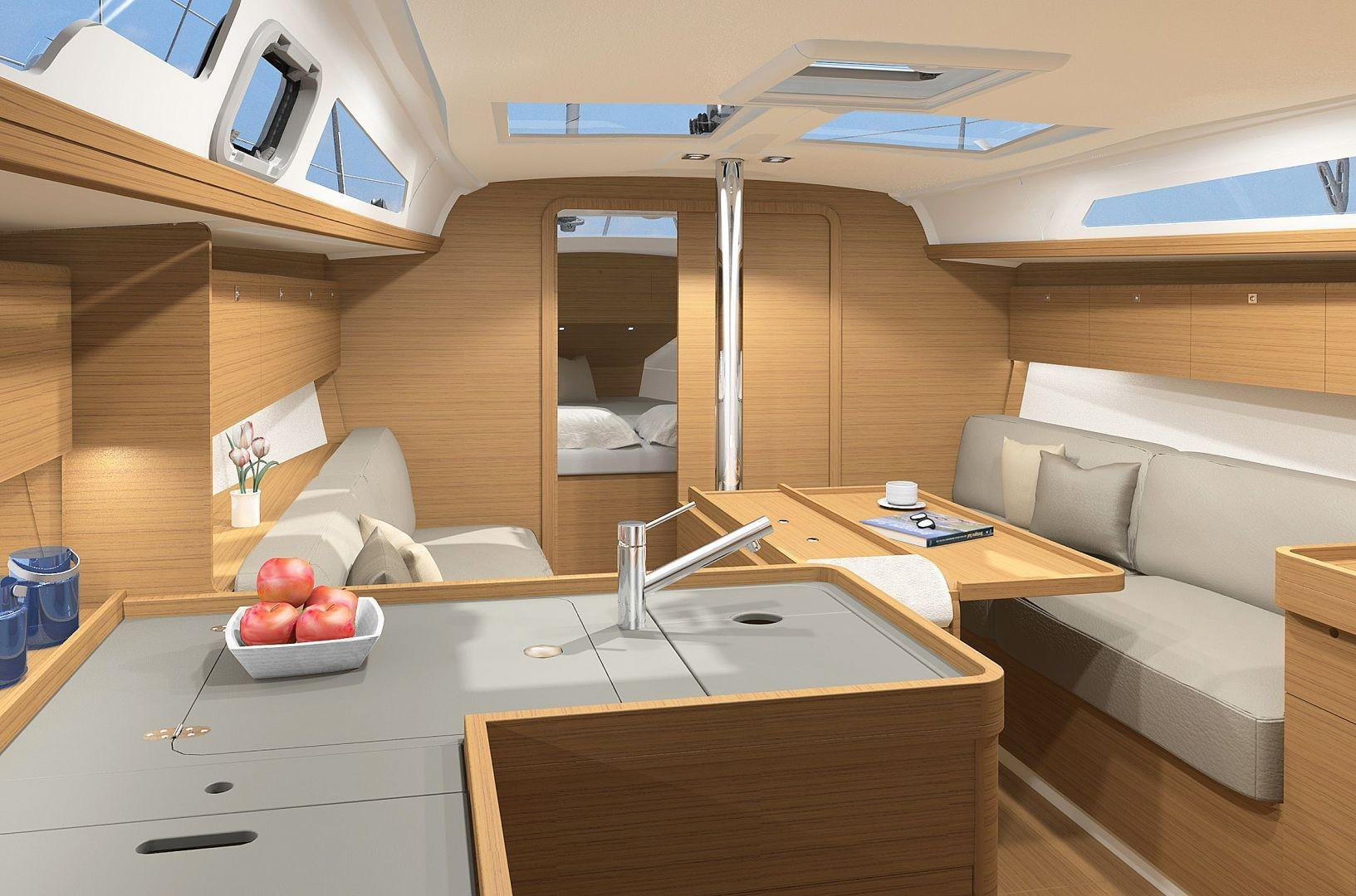 Manufacturer Provided Image: Dufour 360 Grand Large Interior