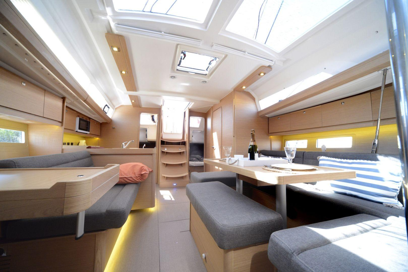 Manufacturer Provided Image: Dufour 412 Grand Large Interior