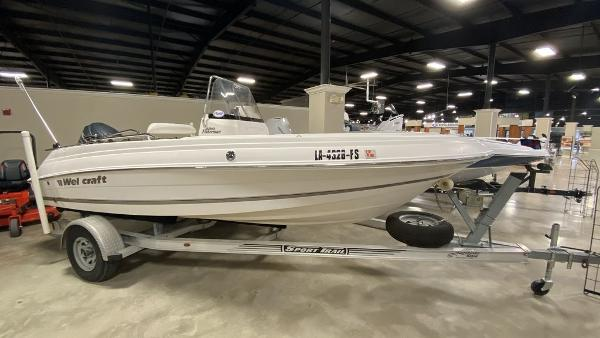 2008 WELLCRAFT 180 FISHERMAN for sale