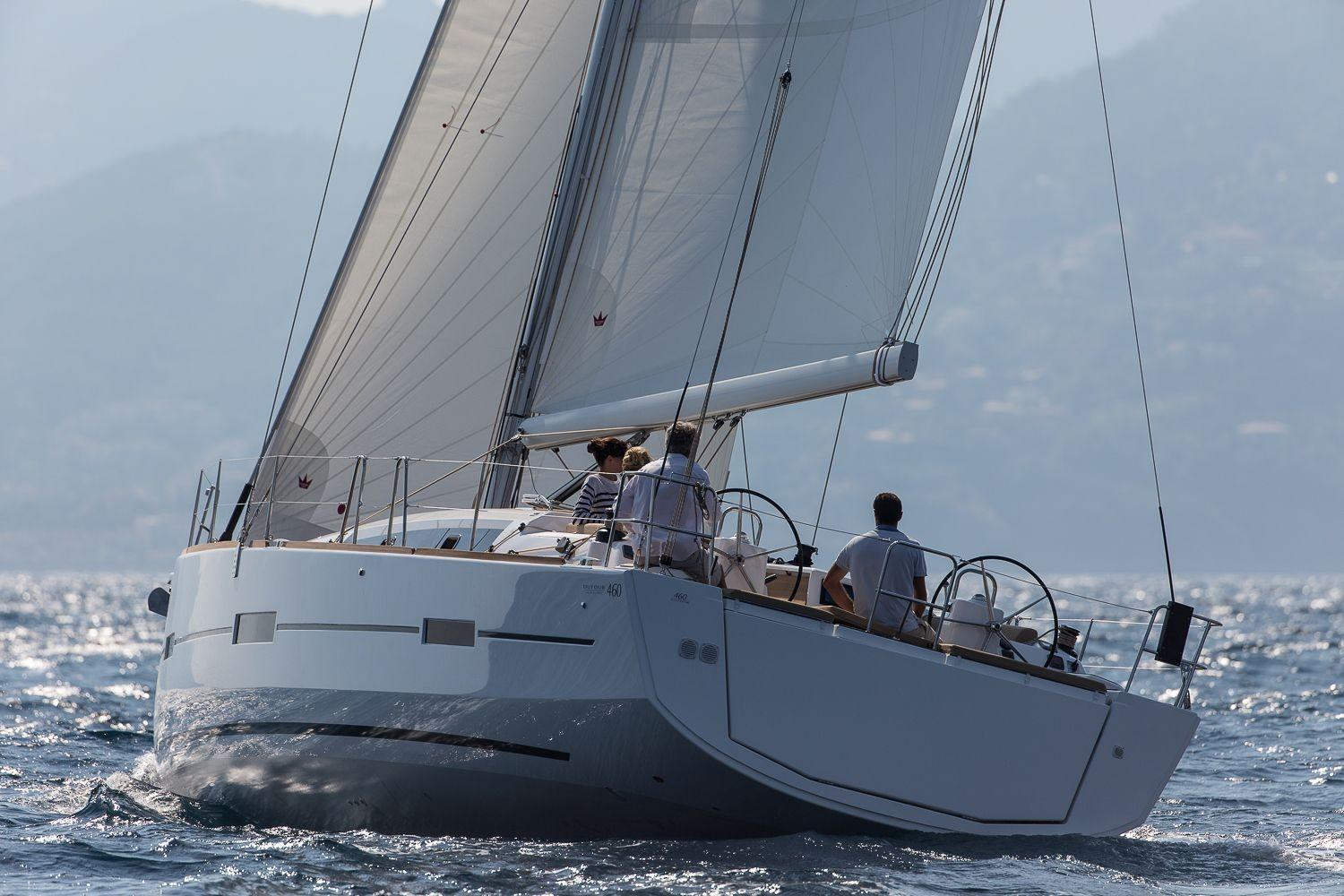 Manufacturer Provided Image: Dufour 460 Grand Large Stern