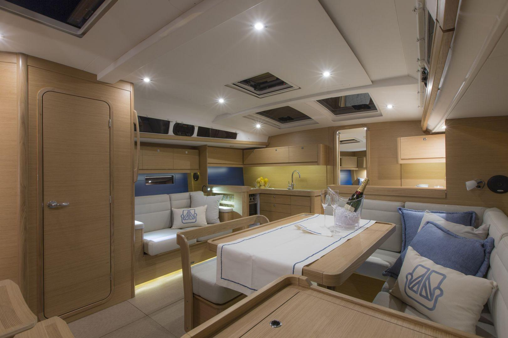 Manufacturer Provided Image: Dufour 460 Grand Large Saloon