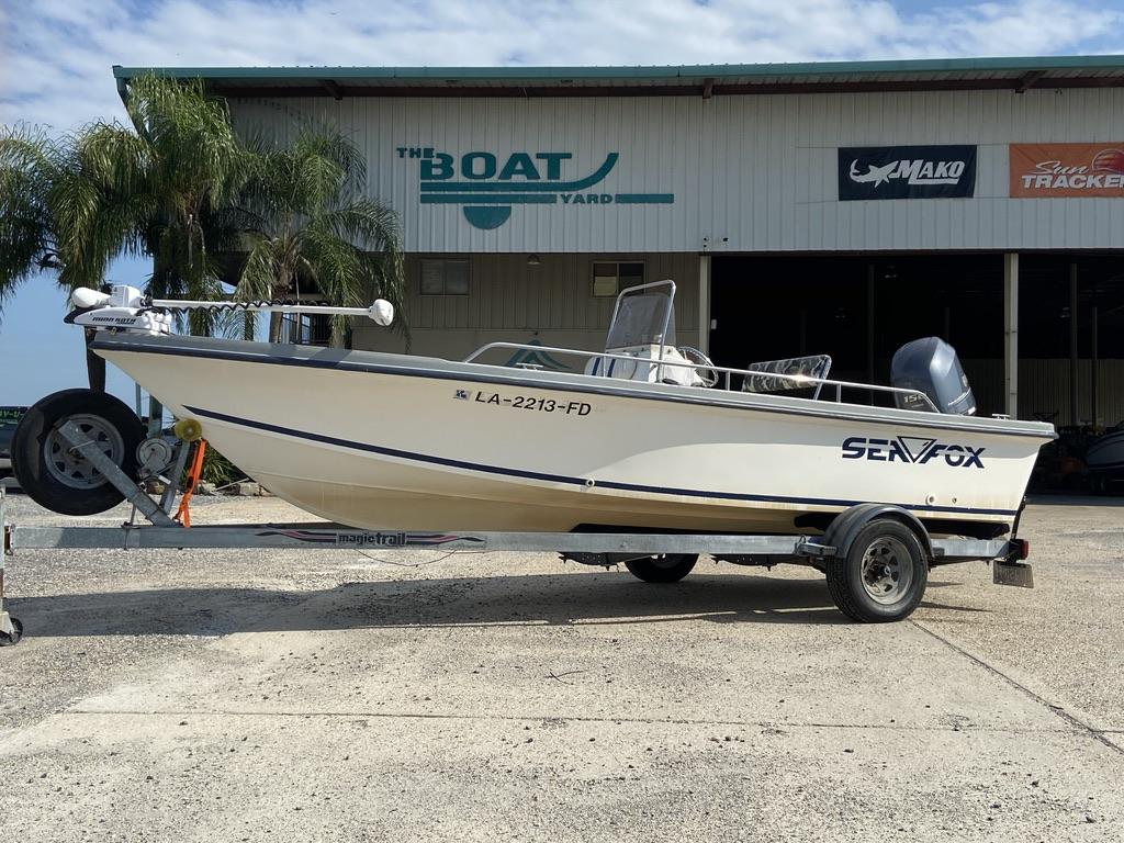 2001 Sea Fox 195 Bay Fisher
