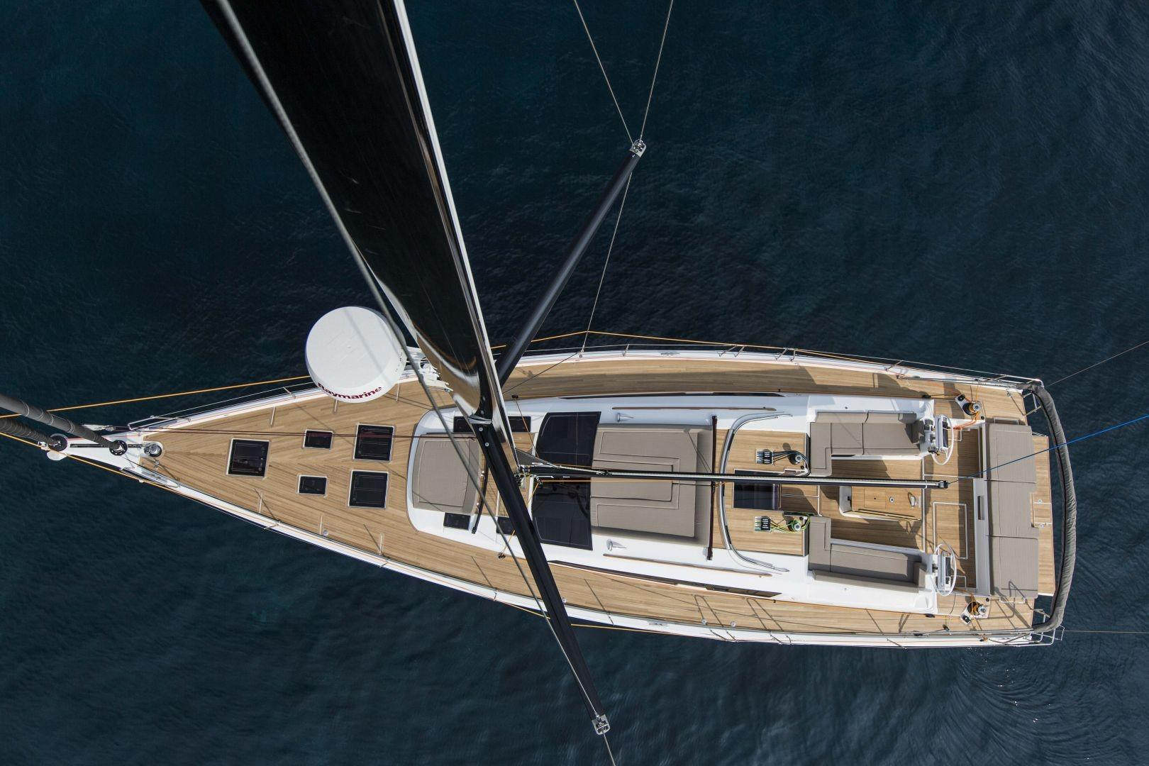 Manufacturer Provided Image: Dufour Exclusive 56 Aerial View