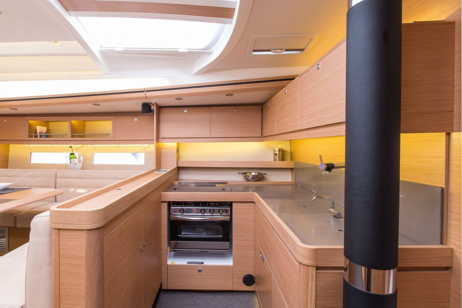 Manufacturer Provided Image: Dufour Exclusive 56 Galley