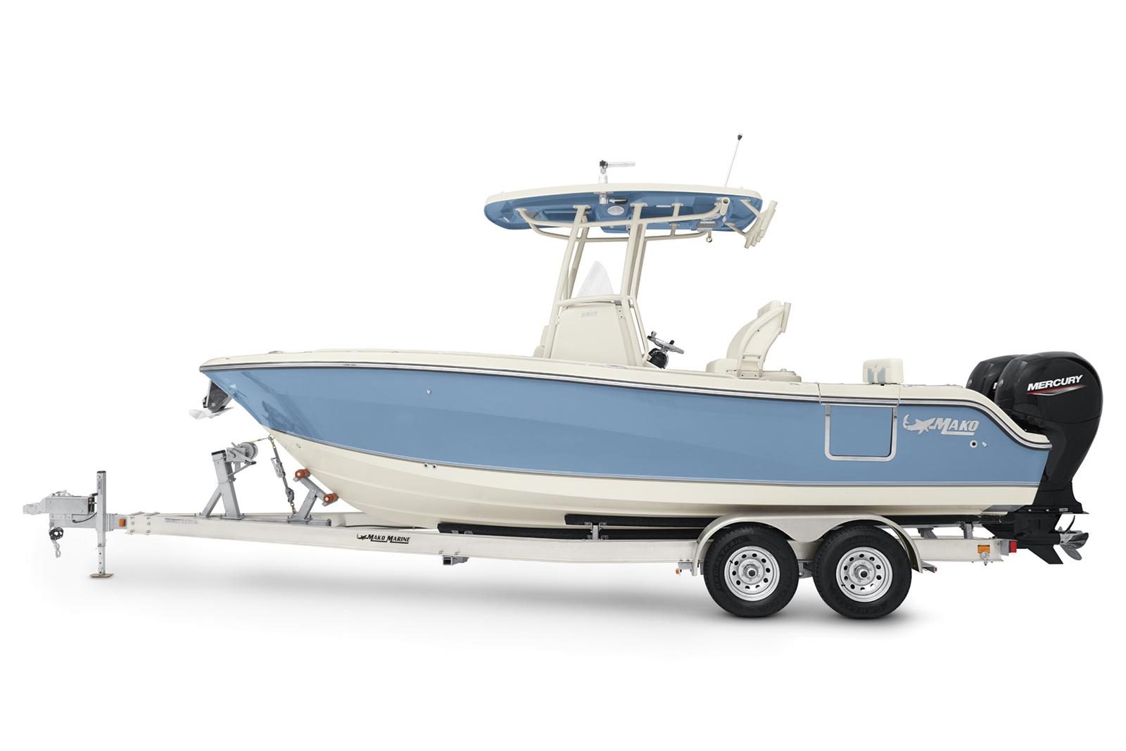2021 Mako boat for sale, model of the boat is 236 CC & Image # 2 of 6