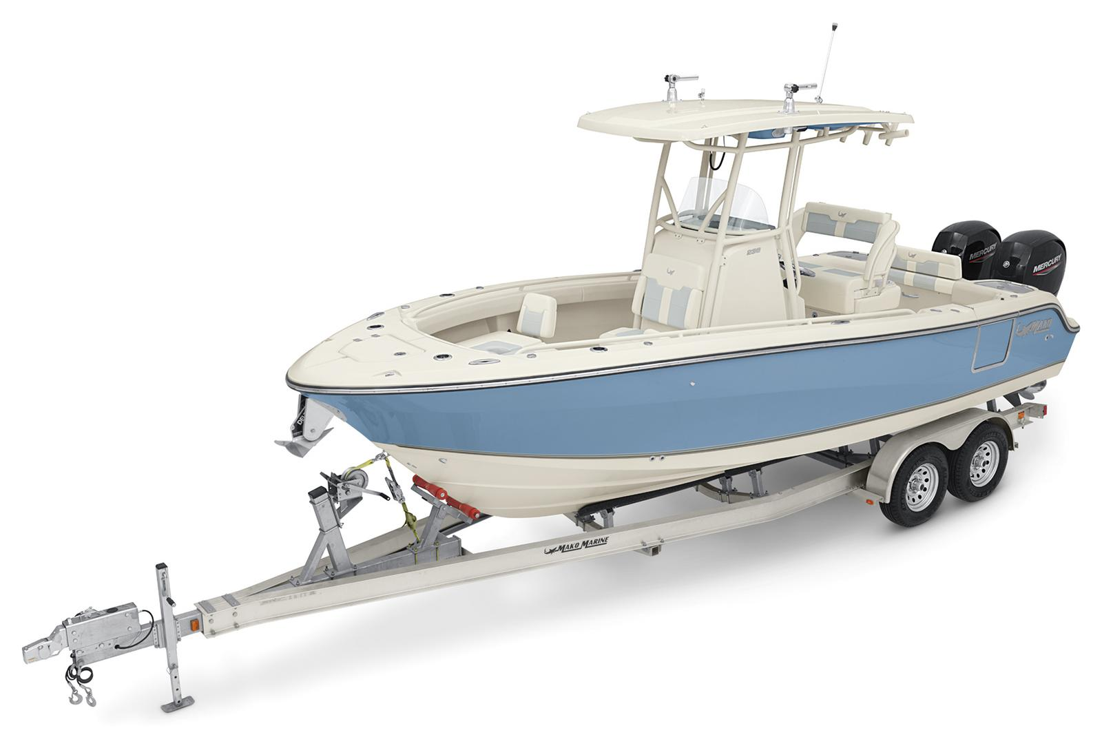 2021 Mako boat for sale, model of the boat is 236 CC & Image # 3 of 6
