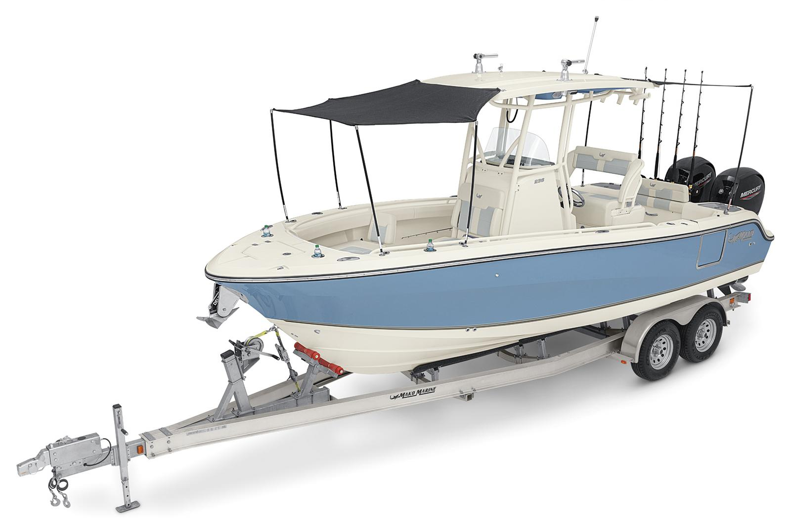2021 Mako boat for sale, model of the boat is 236 CC & Image # 5 of 6
