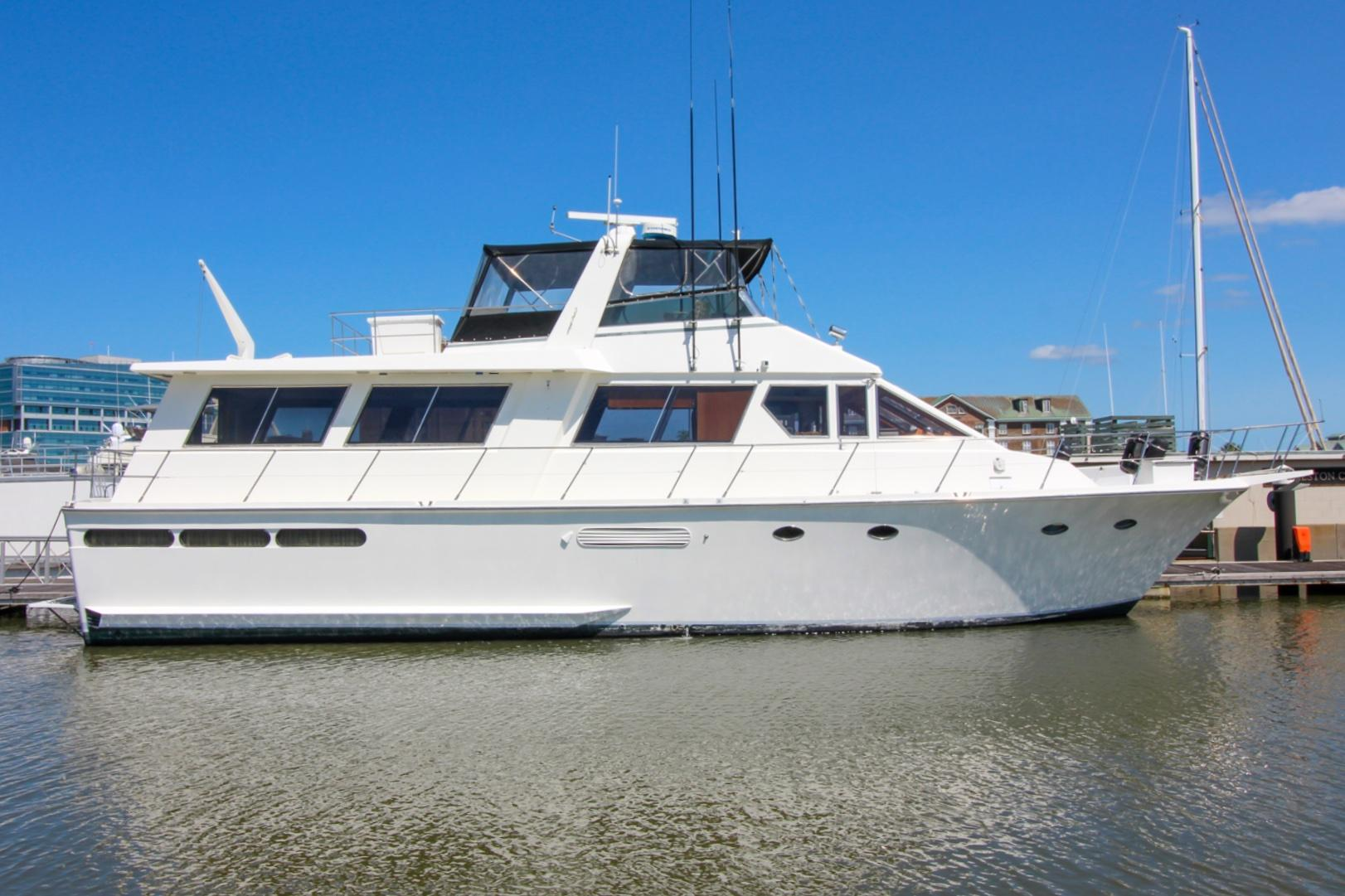 1988 Viking 63 Extended Aft Deck Motor Yacht