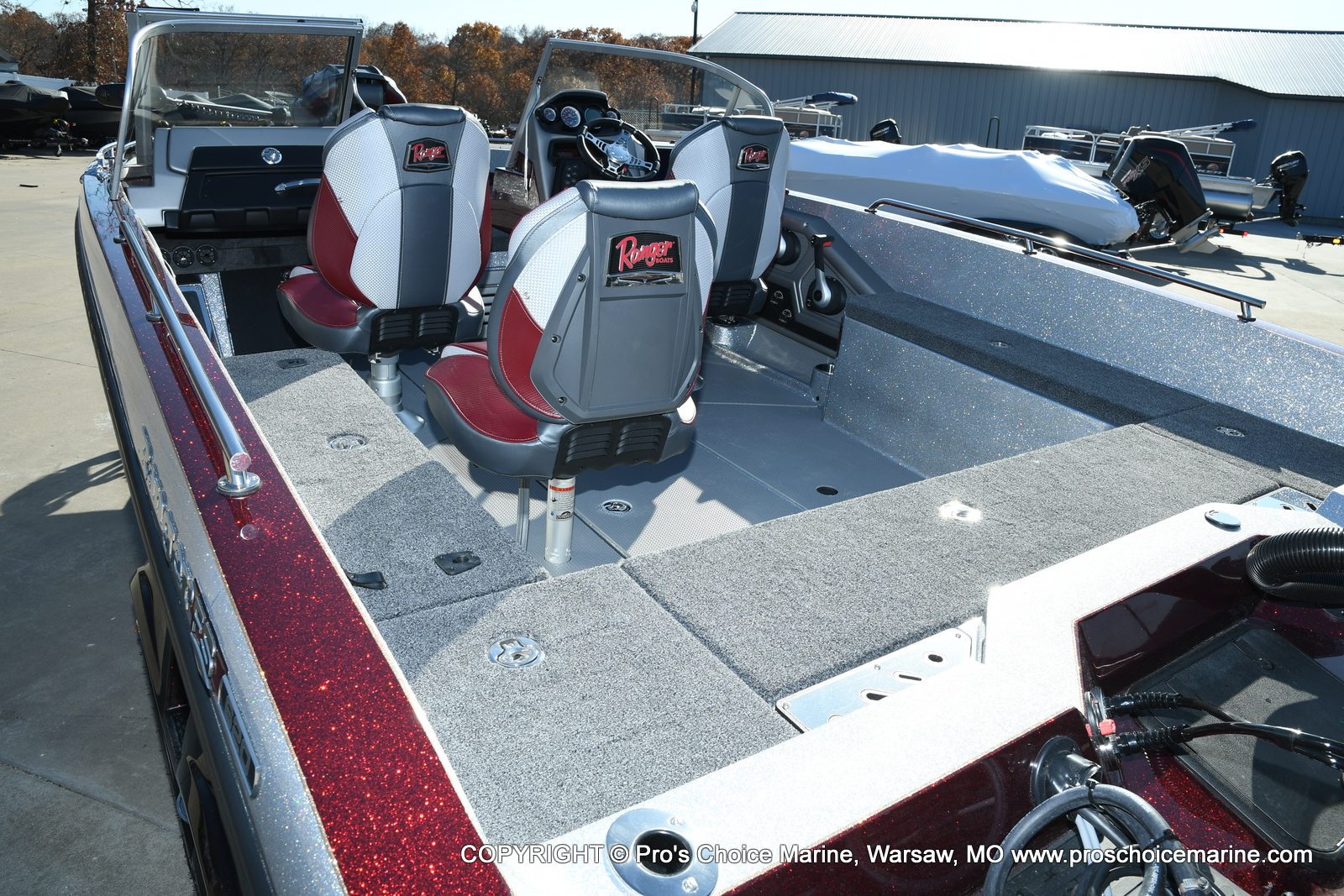 2021 Ranger Boats boat for sale, model of the boat is 620FS Ranger Cup Equipped & Image # 28 of 50
