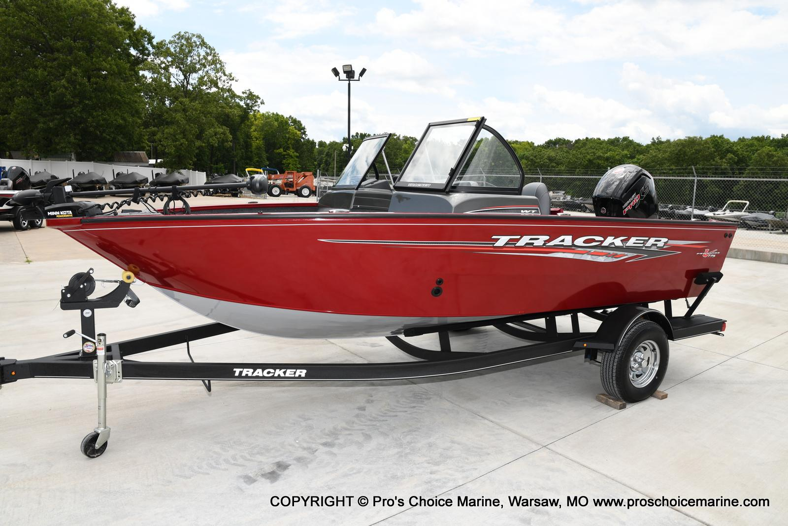 2021 Tracker Boats boat for sale, model of the boat is Pro Guide V-175 WT & Image # 33 of 50