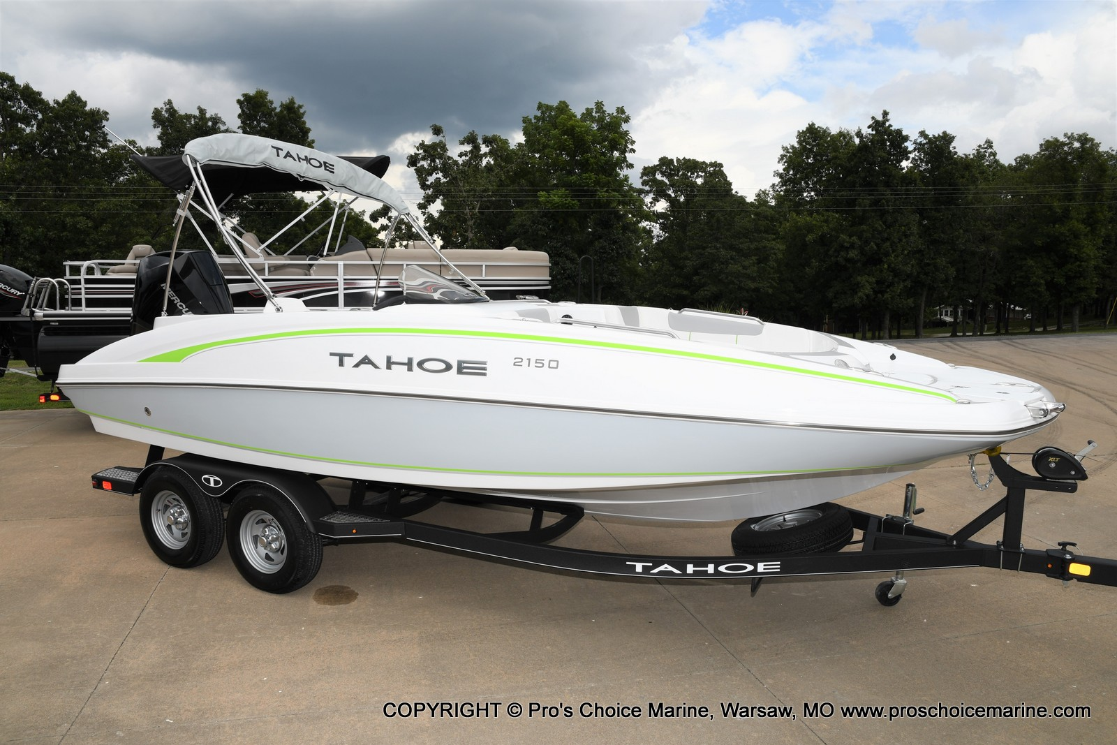 2021 Tahoe boat for sale, model of the boat is 2150 & Image # 1 of 50