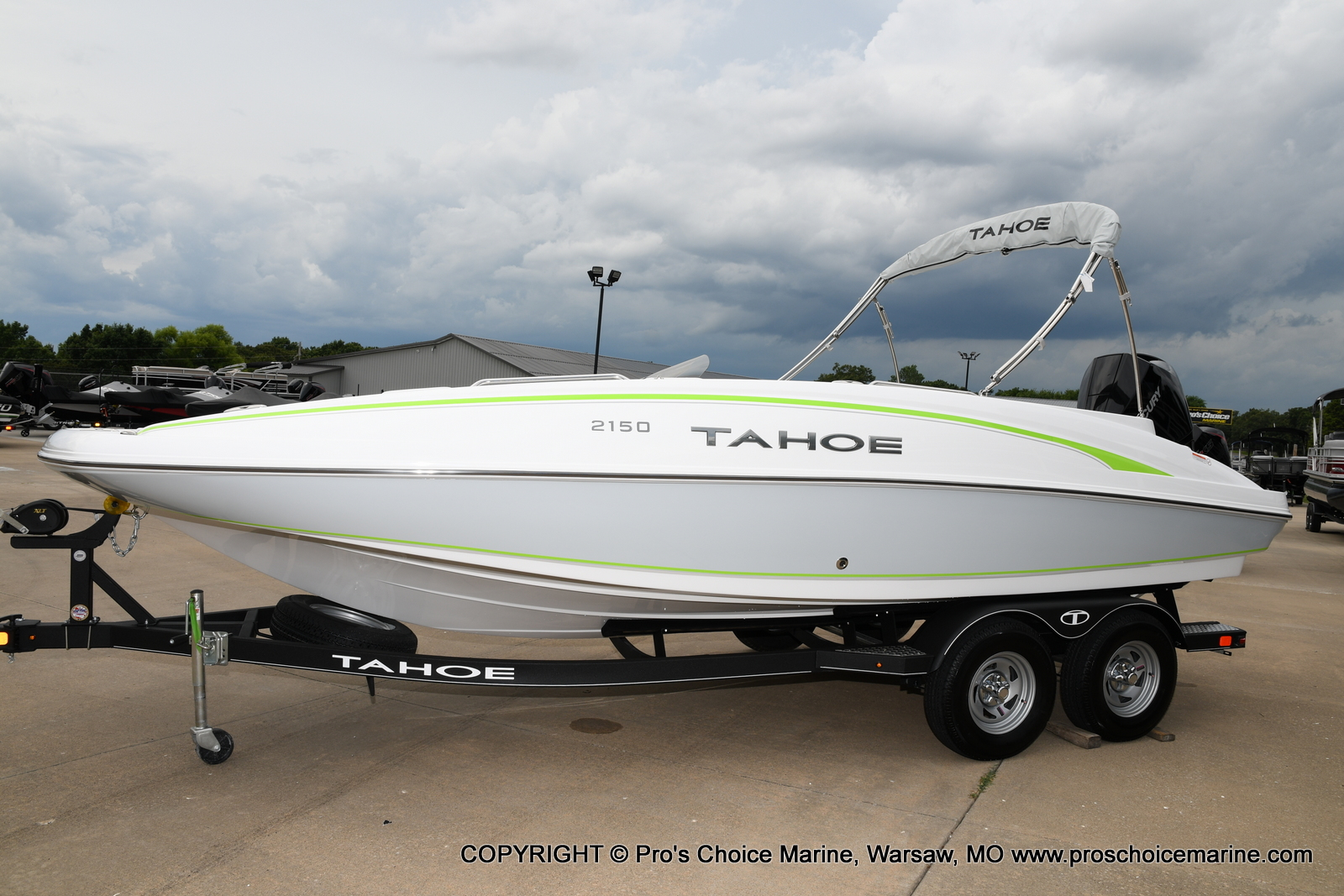 2021 Tahoe boat for sale, model of the boat is 2150 & Image # 14 of 50