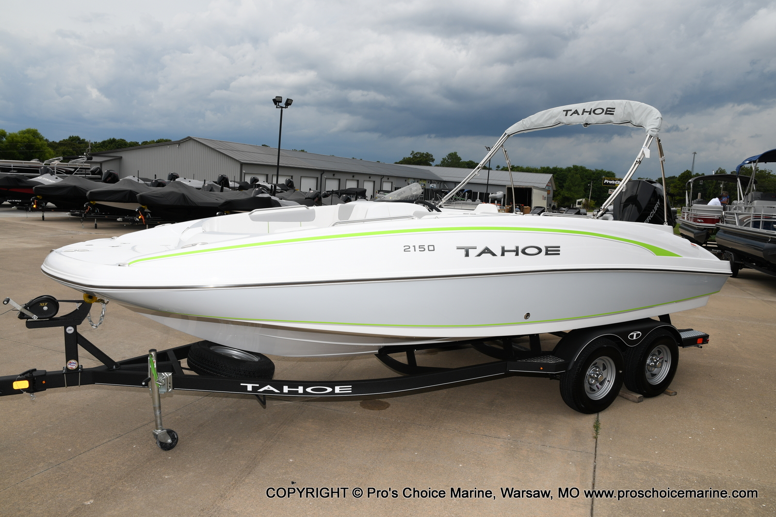 2021 Tahoe boat for sale, model of the boat is 2150 & Image # 38 of 50