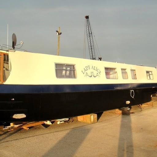 Evans & Sons 50ft Steel Barge